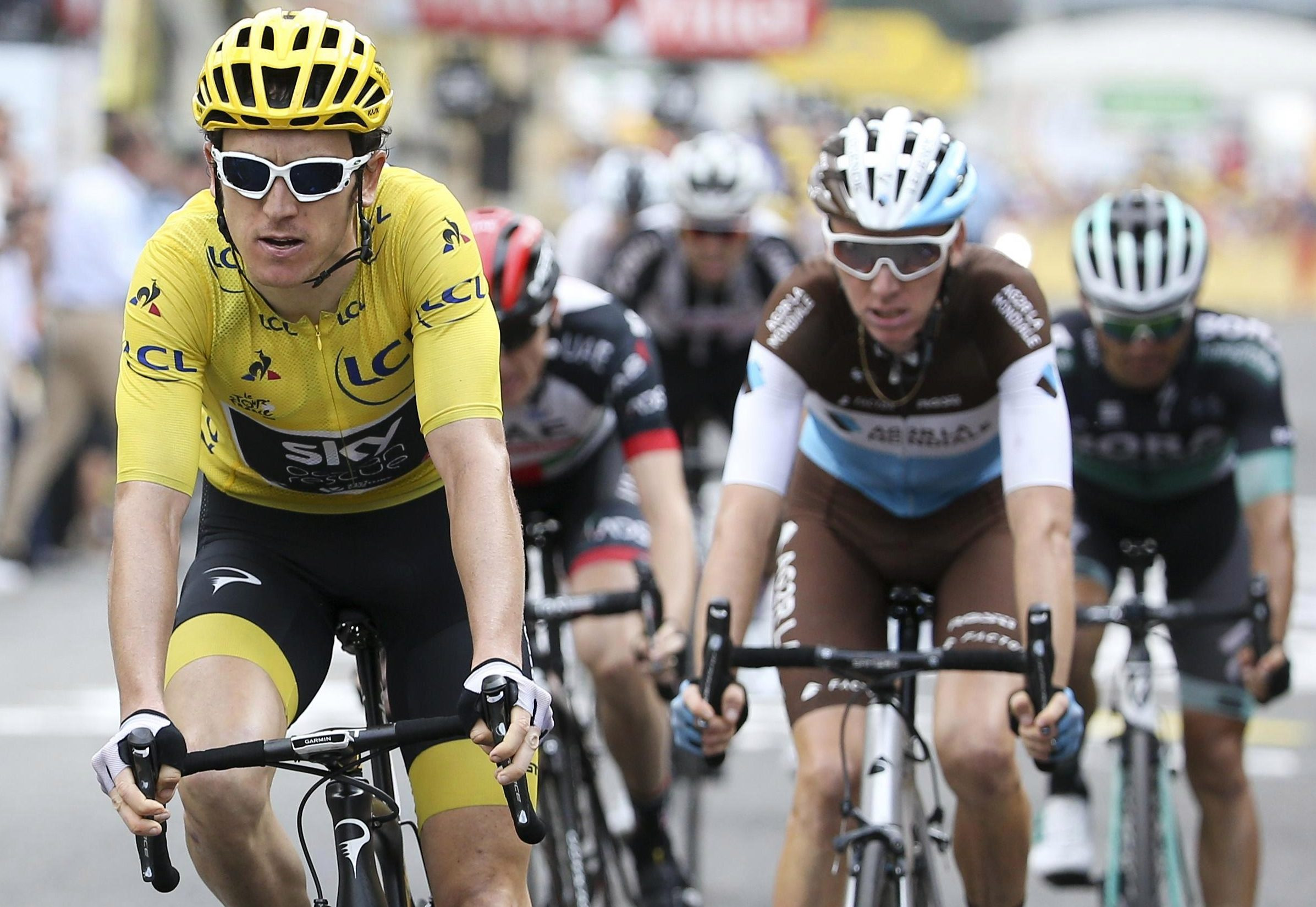 Geraint Thomas is well placed to cling on for a momentous Tour de France triumph
