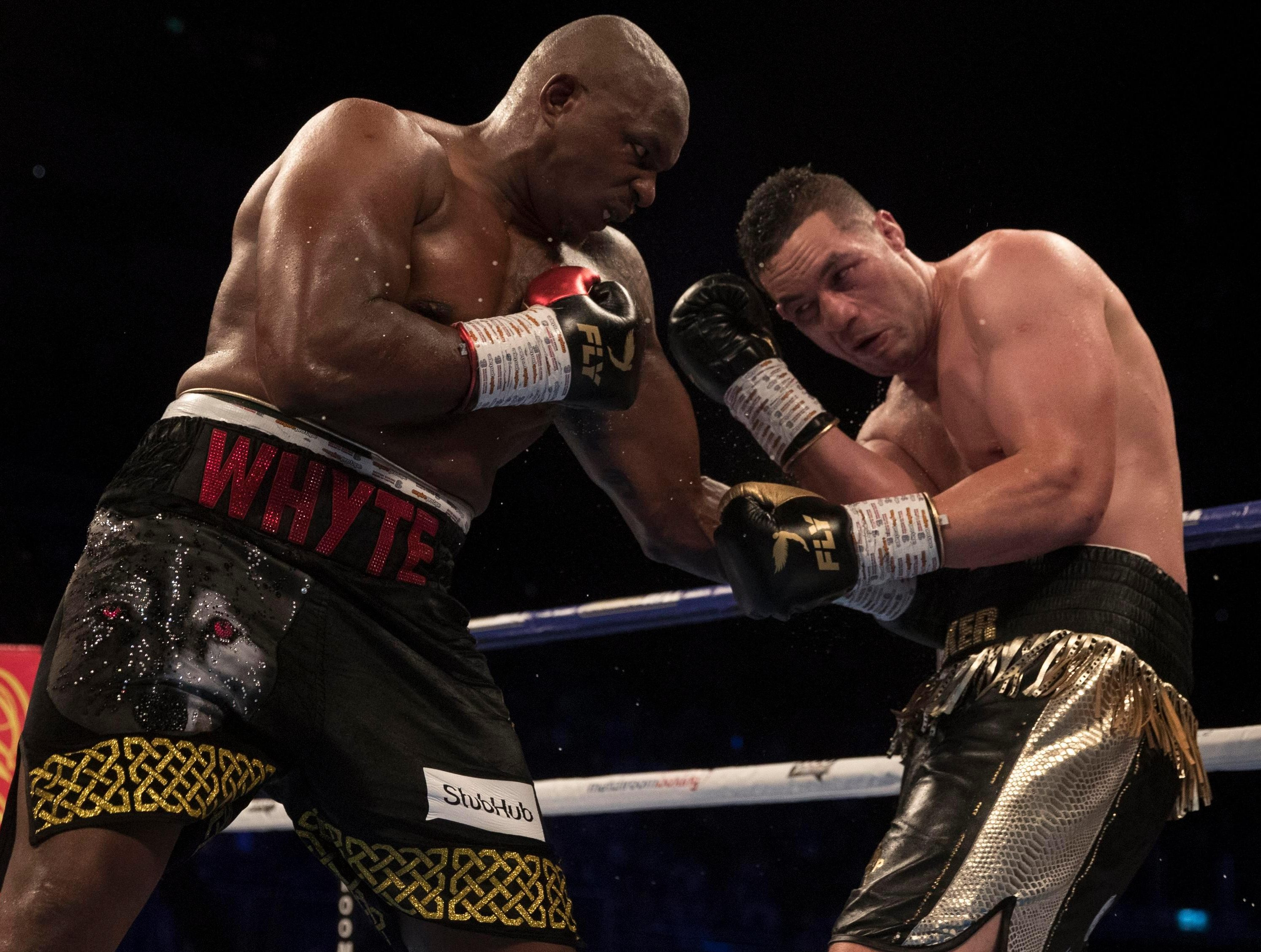 Joseph Parker says it was a great fight against Dillian Whyte on Saturday but he was just unable to execute his tactics before losing lost on points