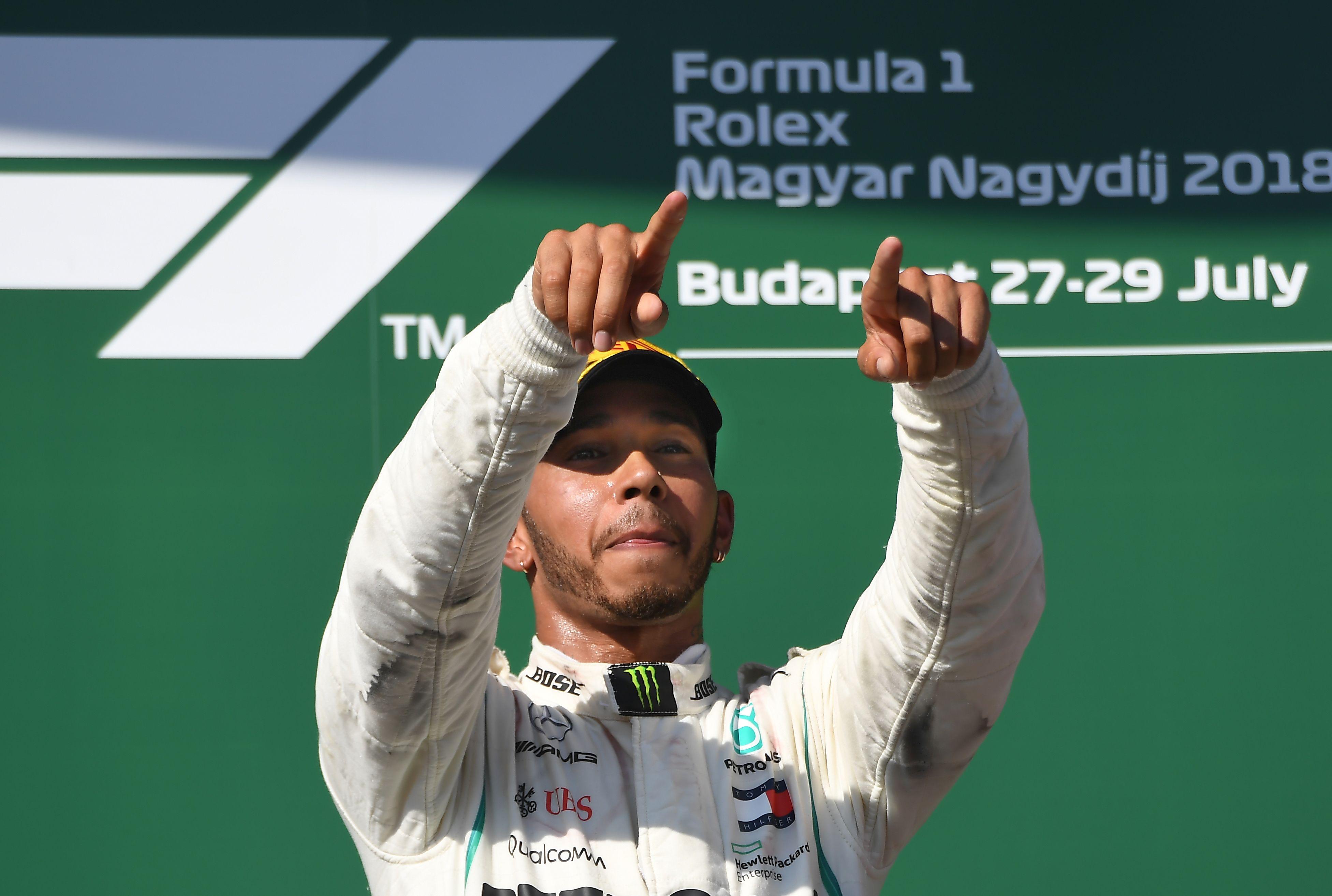 Hamilton now has a 24-point lead over Ferrari's Sebastian Vettel in the title race