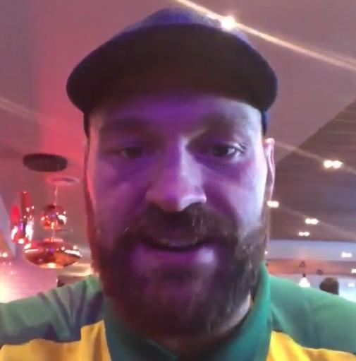 Tyson Fury took to Twitter to announce his plans to fight in Africa and Antarctica in the future