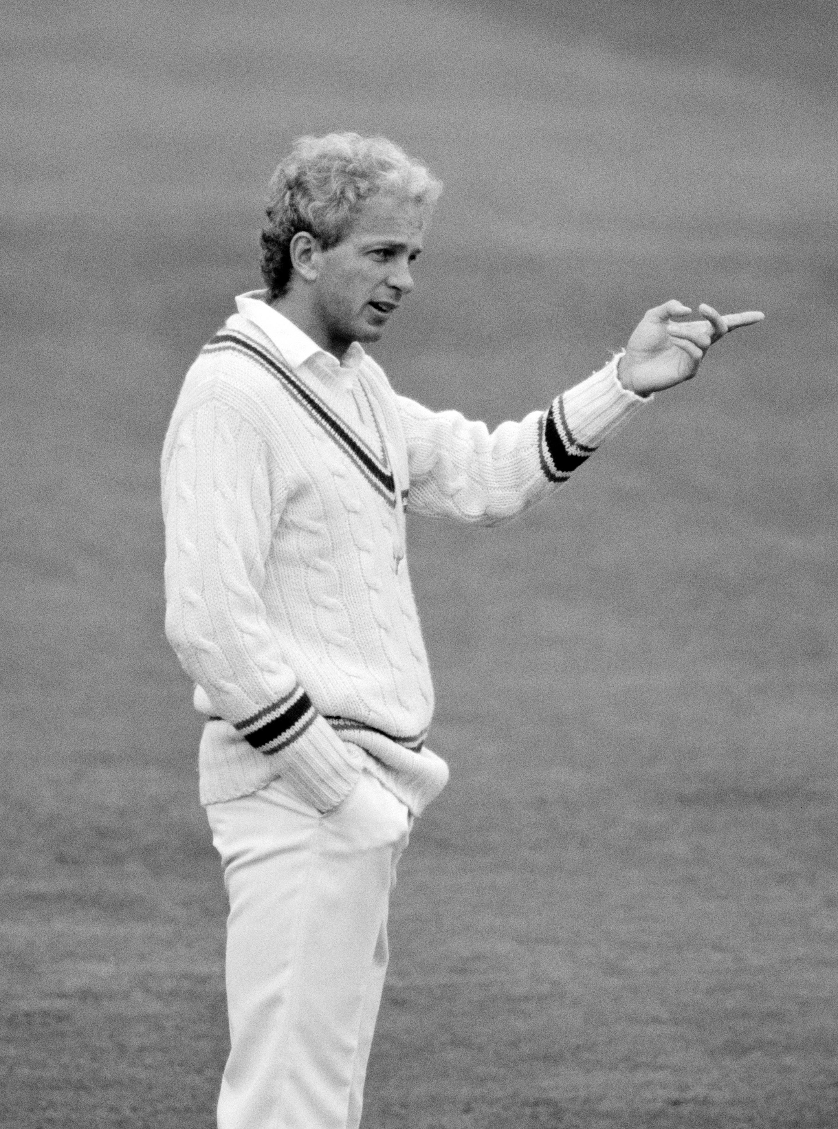 David Gowerwas the first Englishman to be called for chucking in a home Test