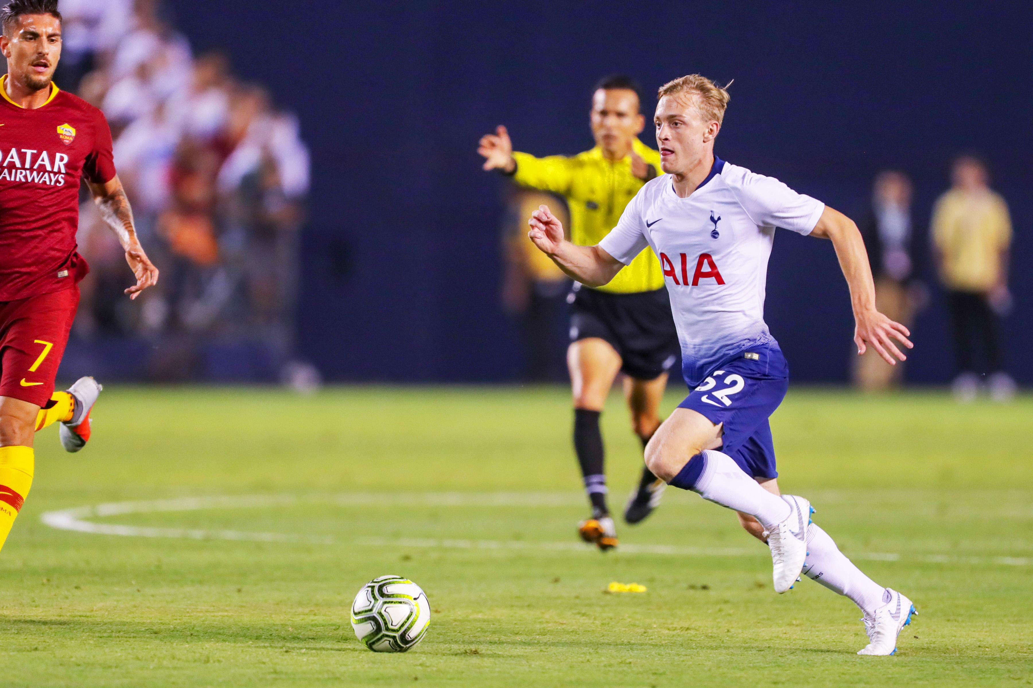 Oliver Skipp has shone for Tottenham so far in pre-season