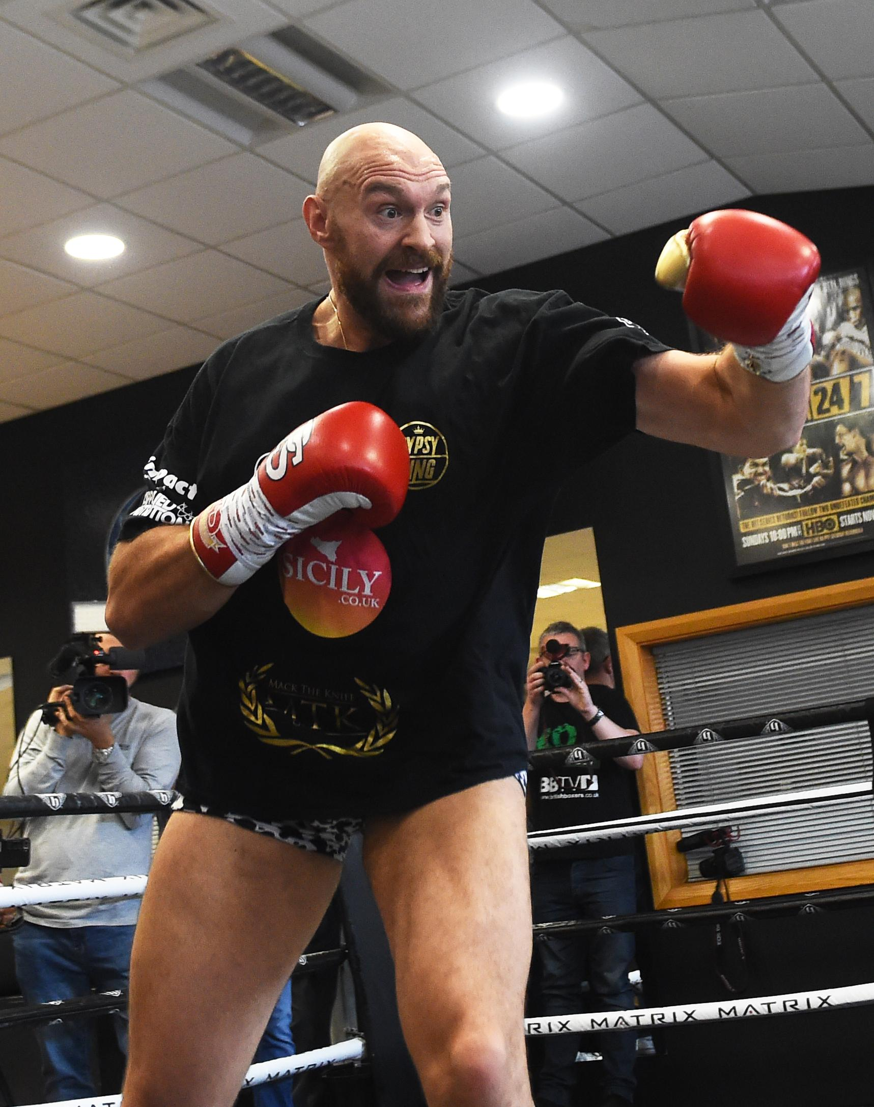 Tyson Fury has launched an attack on Britain's world heavyweight champion Anthony Joshua