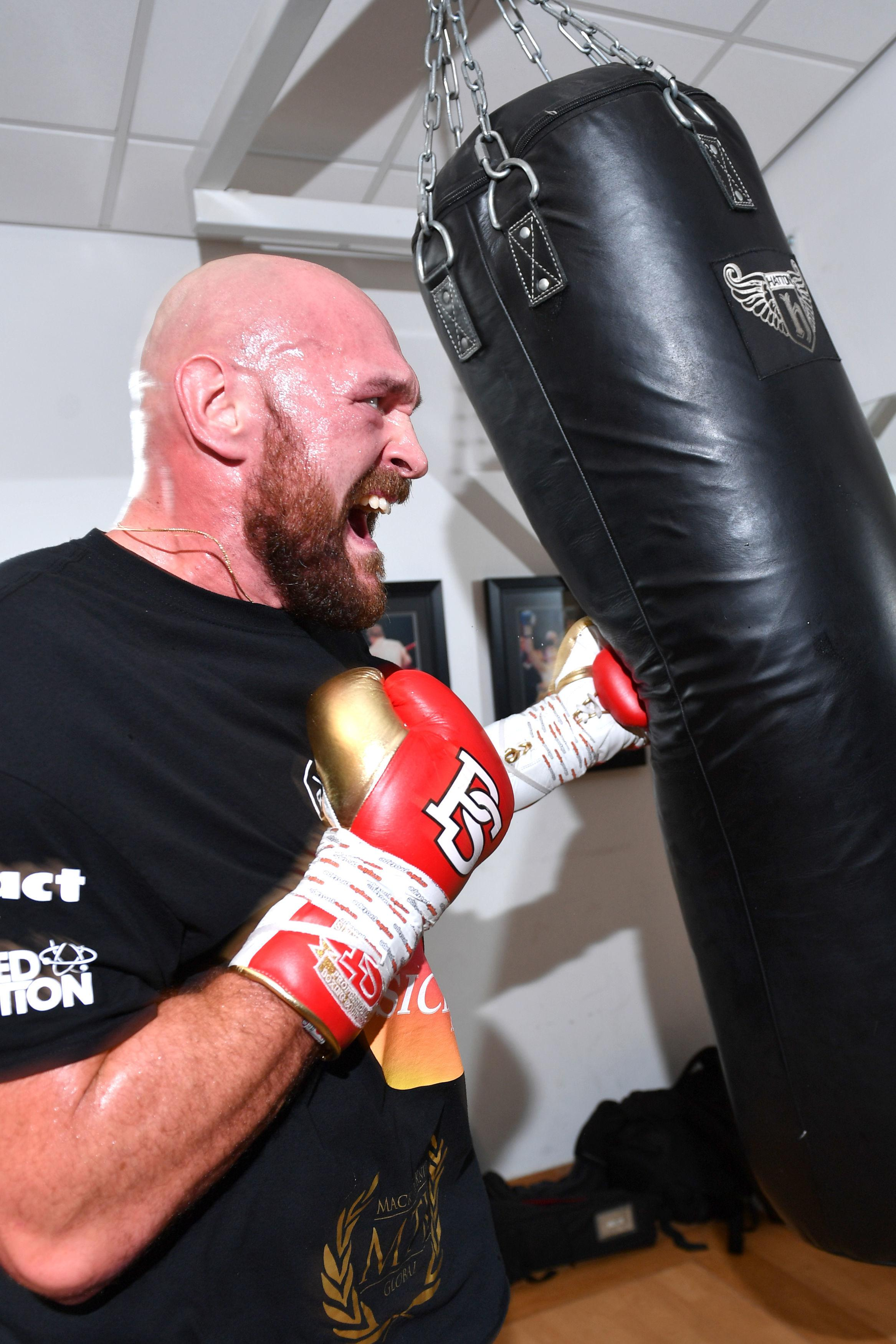 Tyson Fury knocked his trainer's tooth out