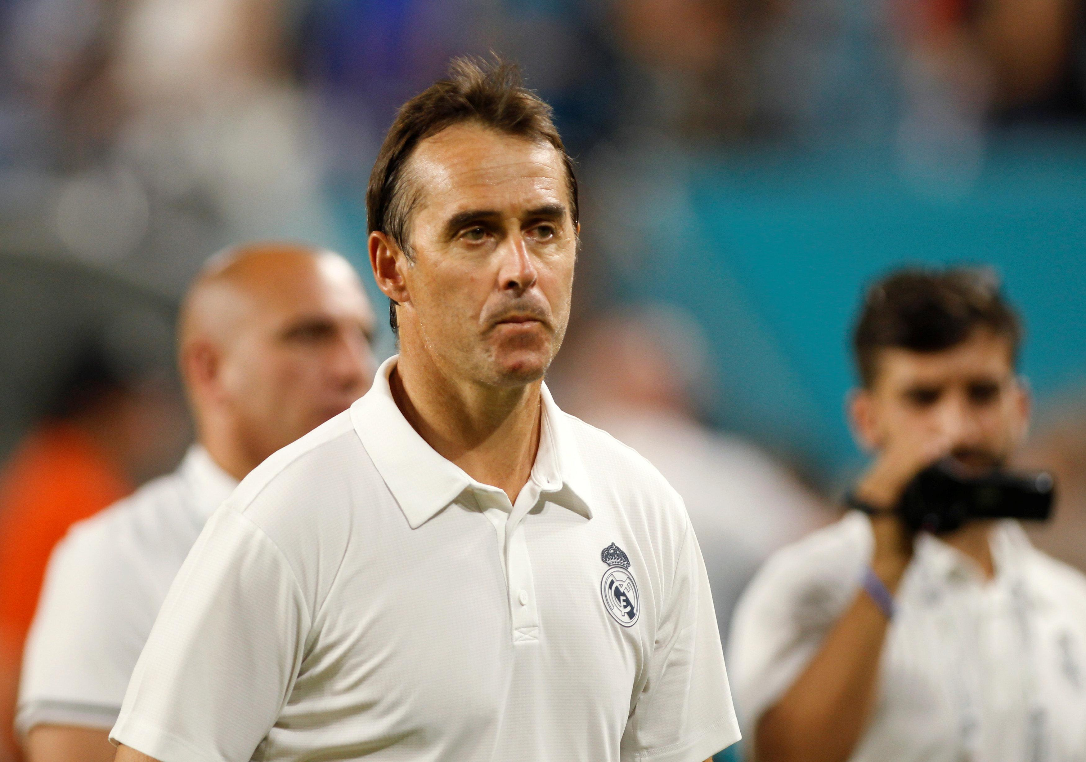 Julen Lopetegui's side are busy warming up for the new season which starts on August 18