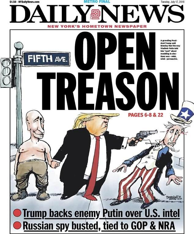Donald Trump Mocked By The World Over Grovelling Vladimir Putin