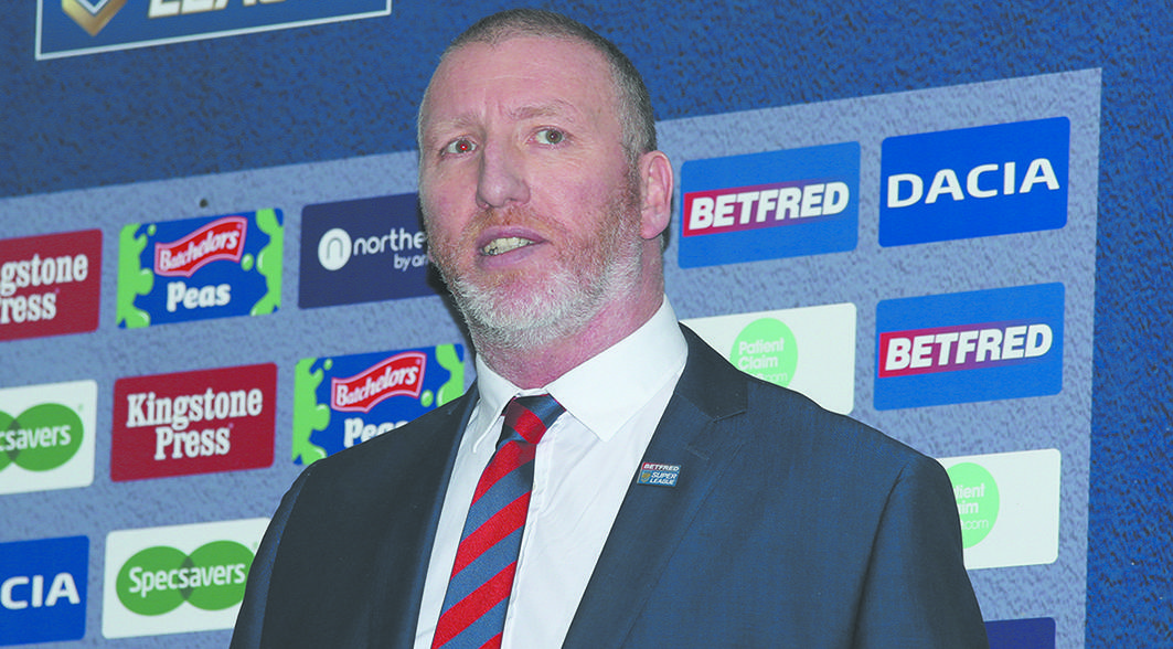 Rimmer replaced Nigel Wood as the RFL's chief executive