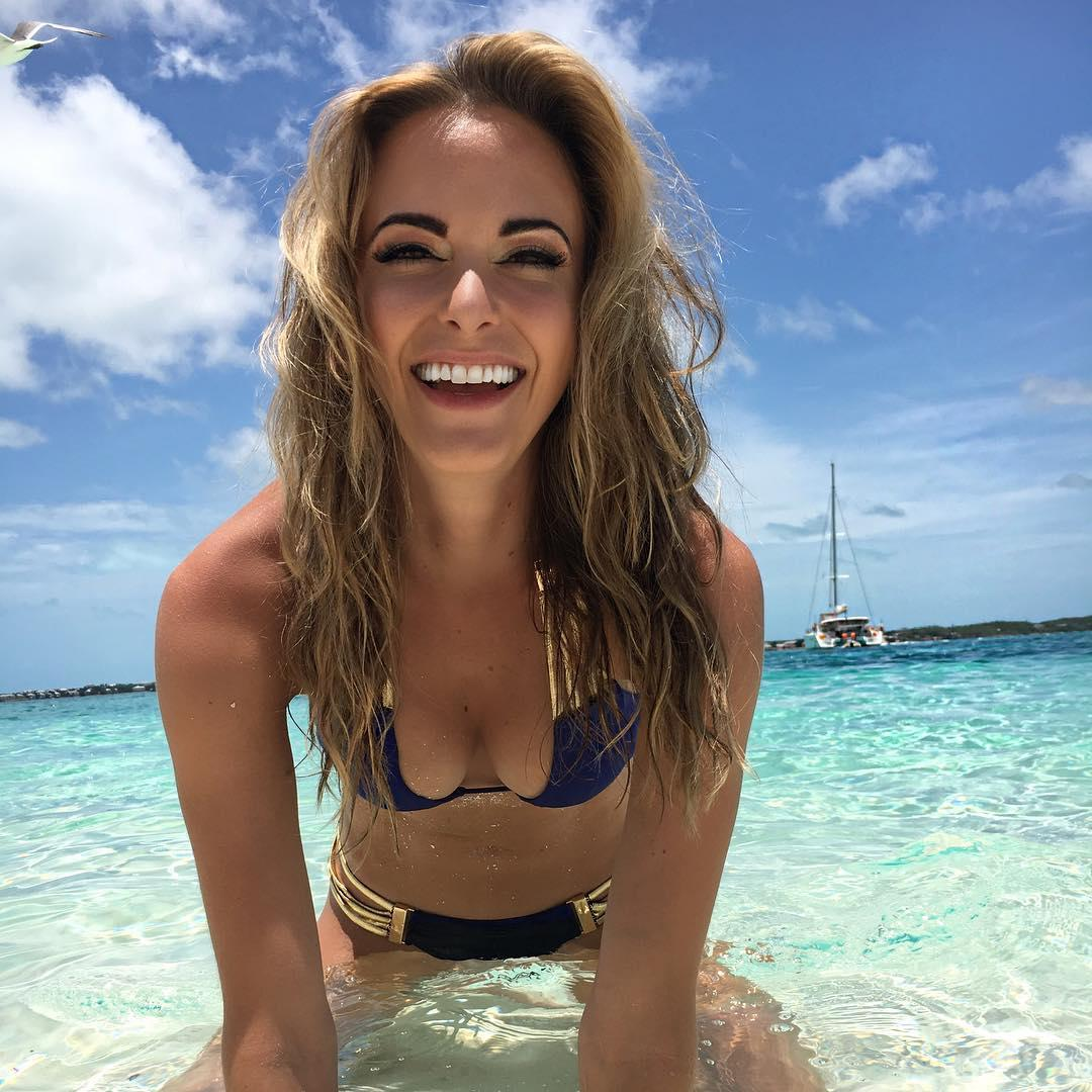 Brooks Koepka's stunning movie star girlfriend Jena Sims tops the first ever golf Wags leaderboard