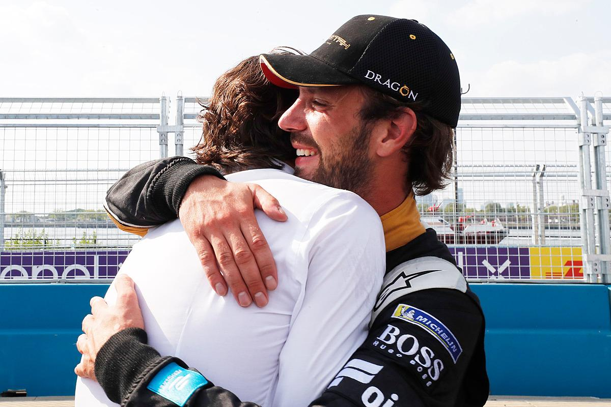 Jean-Eric Vergne finished fifth to seal the title