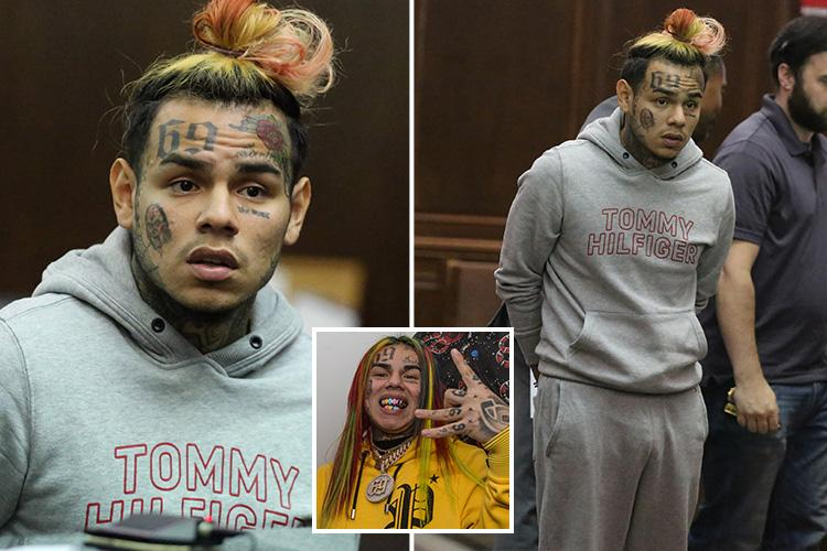 6ix9ine faces jail for posting sick video of girl, 13, performing sex act on