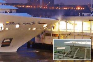 Afbeeldingsresultaat voor Carnival Horizon crash