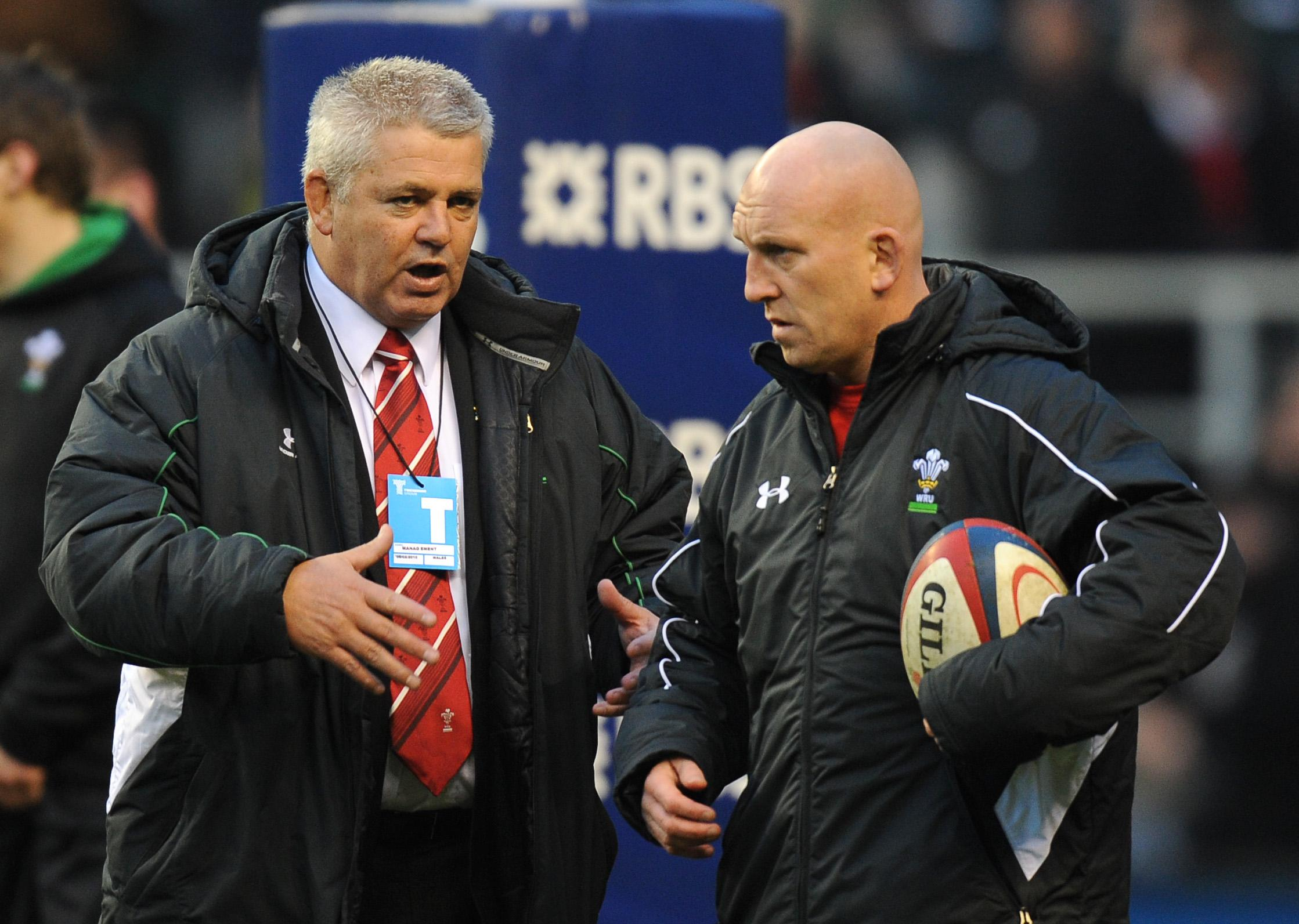 Gatland and Edwards have formed a successful bond as Wales coaches