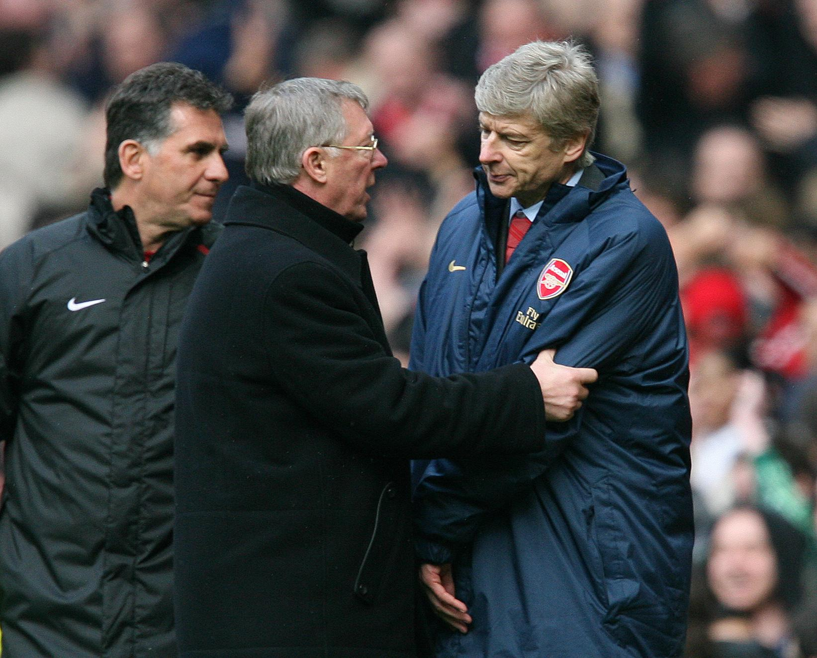 Sir Alex Ferguson used to get inside Wenger's head