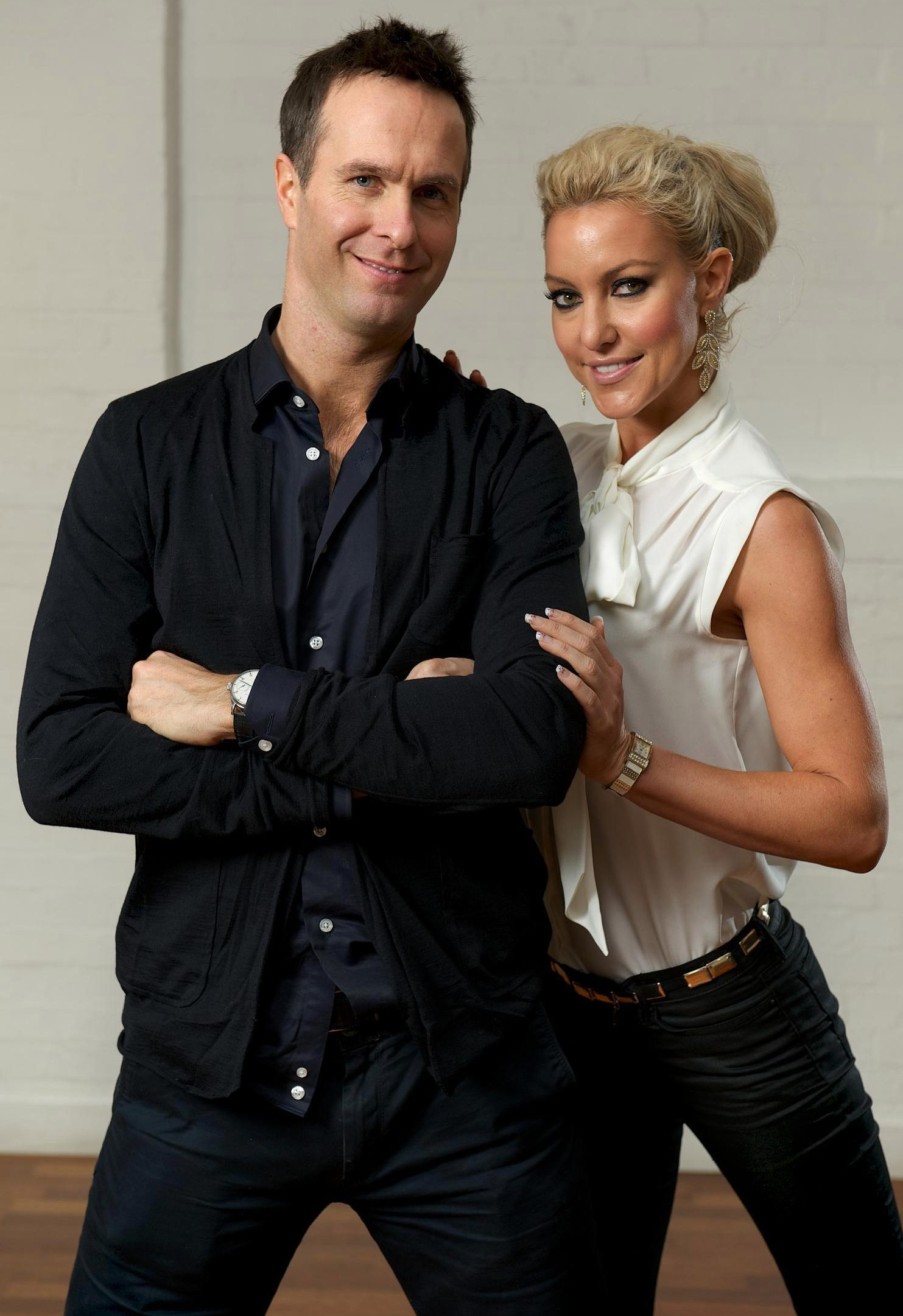 Ex-England skipper Michael Vaughan appeared in the 2012 Stricly line-up with dance partner Natalie Lowe