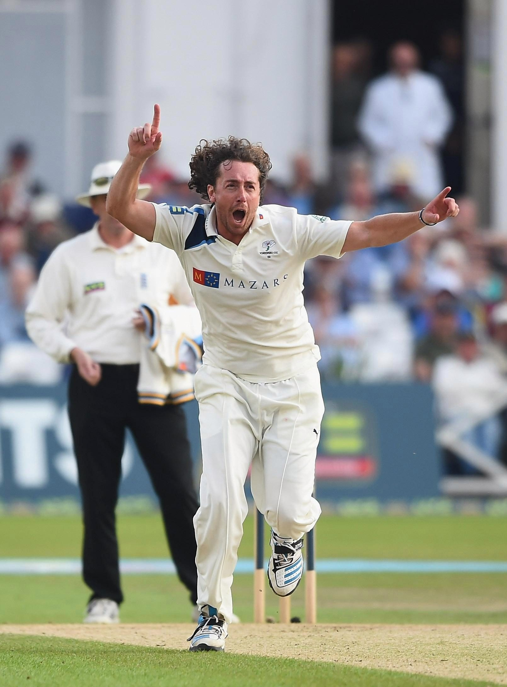 Sidebottom's 20-year career at clubs like Yorkshire and Notts came to an end last year