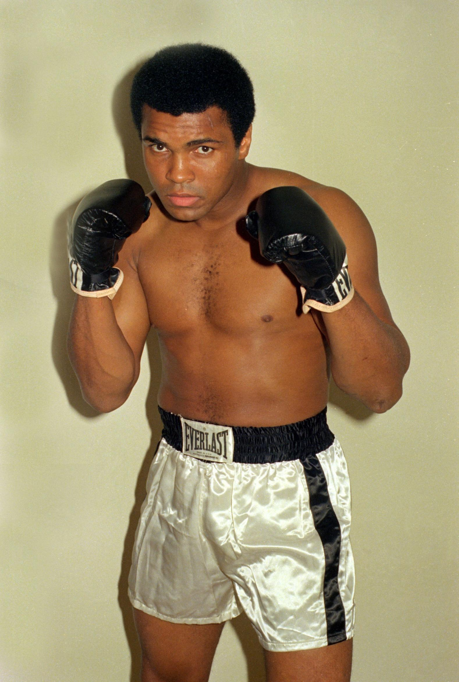 Muhammad Ali passed away in June 2016, aged 74