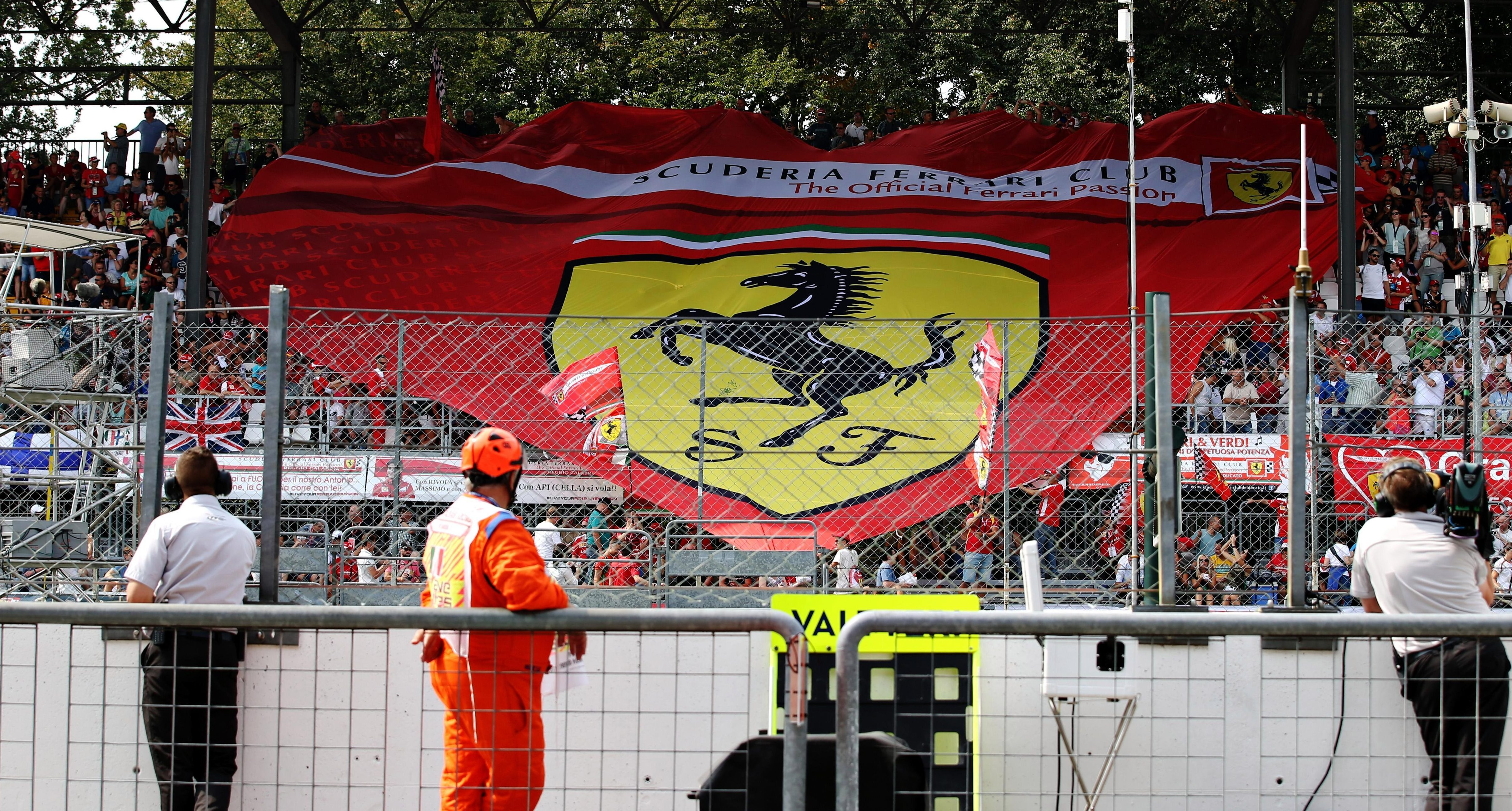 F1 heads to Monza, known for its fanatical support of Ferrari