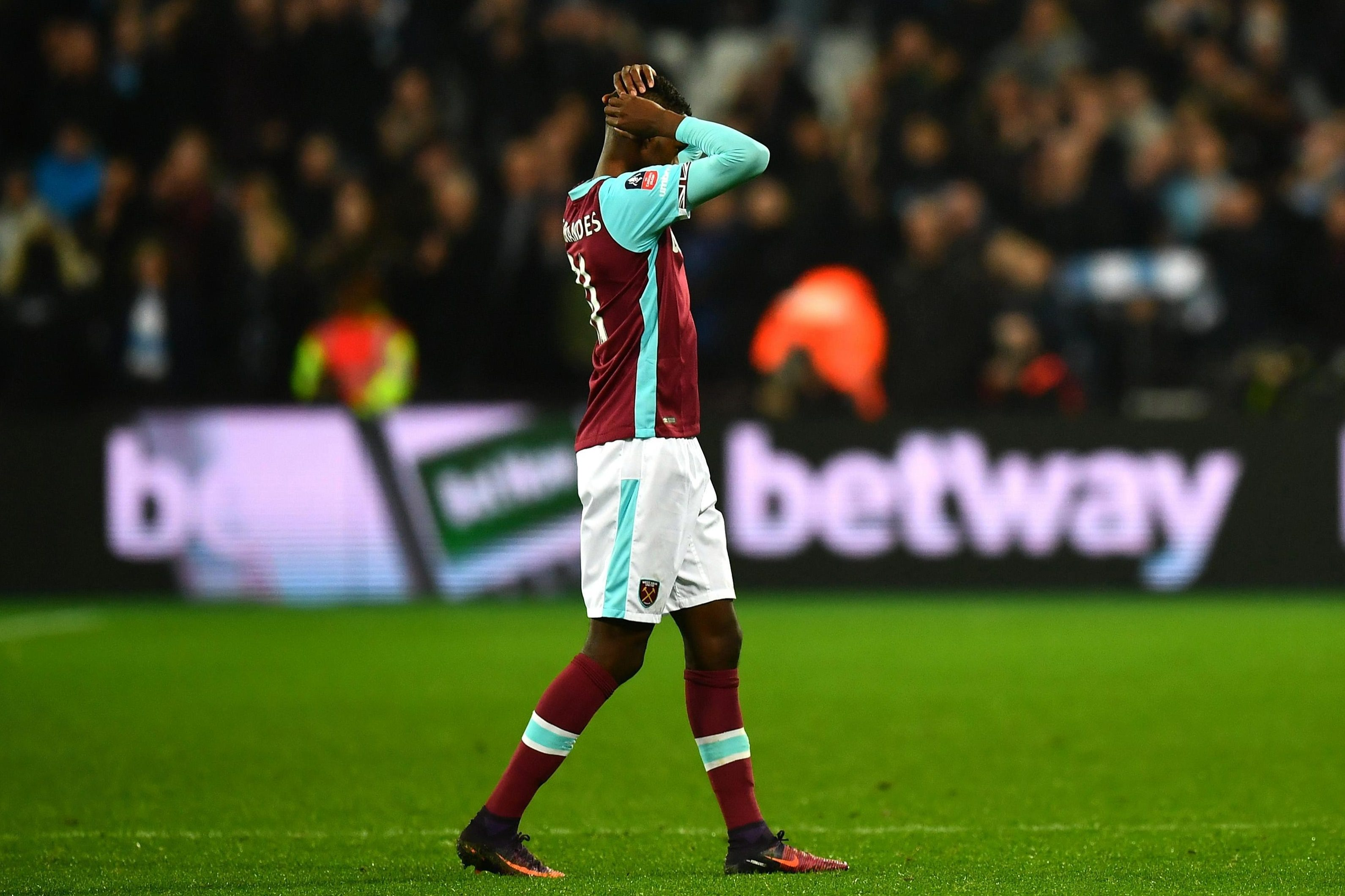 Edimilson Fernandes struggled with injuries last season - limiting his playing time