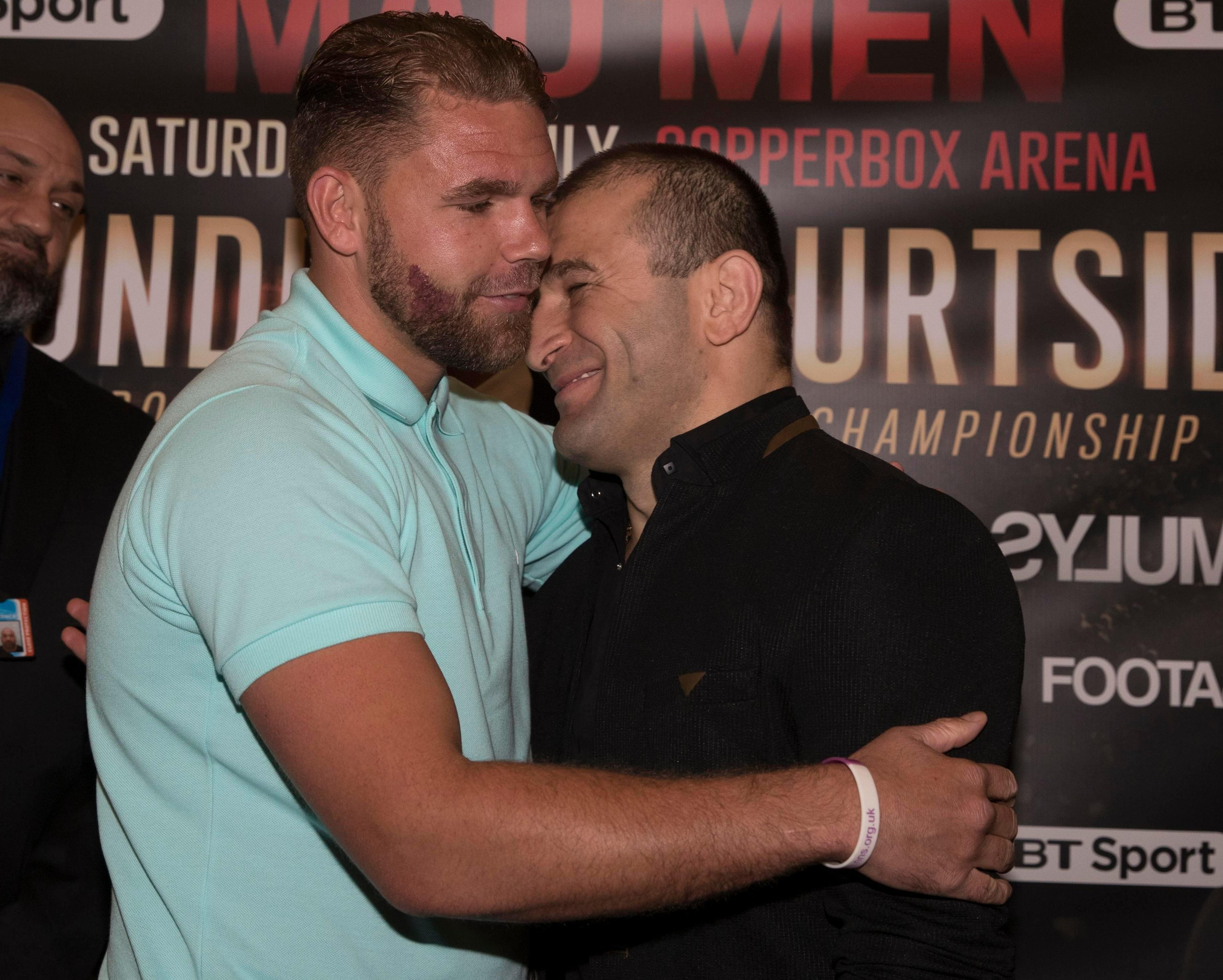 The fight against Billy Joe Saunders did not go ahead