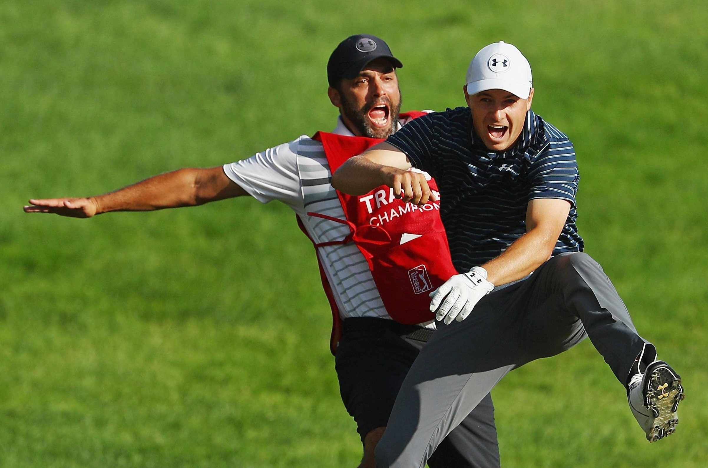 Jordan Spieth and caddy Michael Greller have formed a formidable partnership