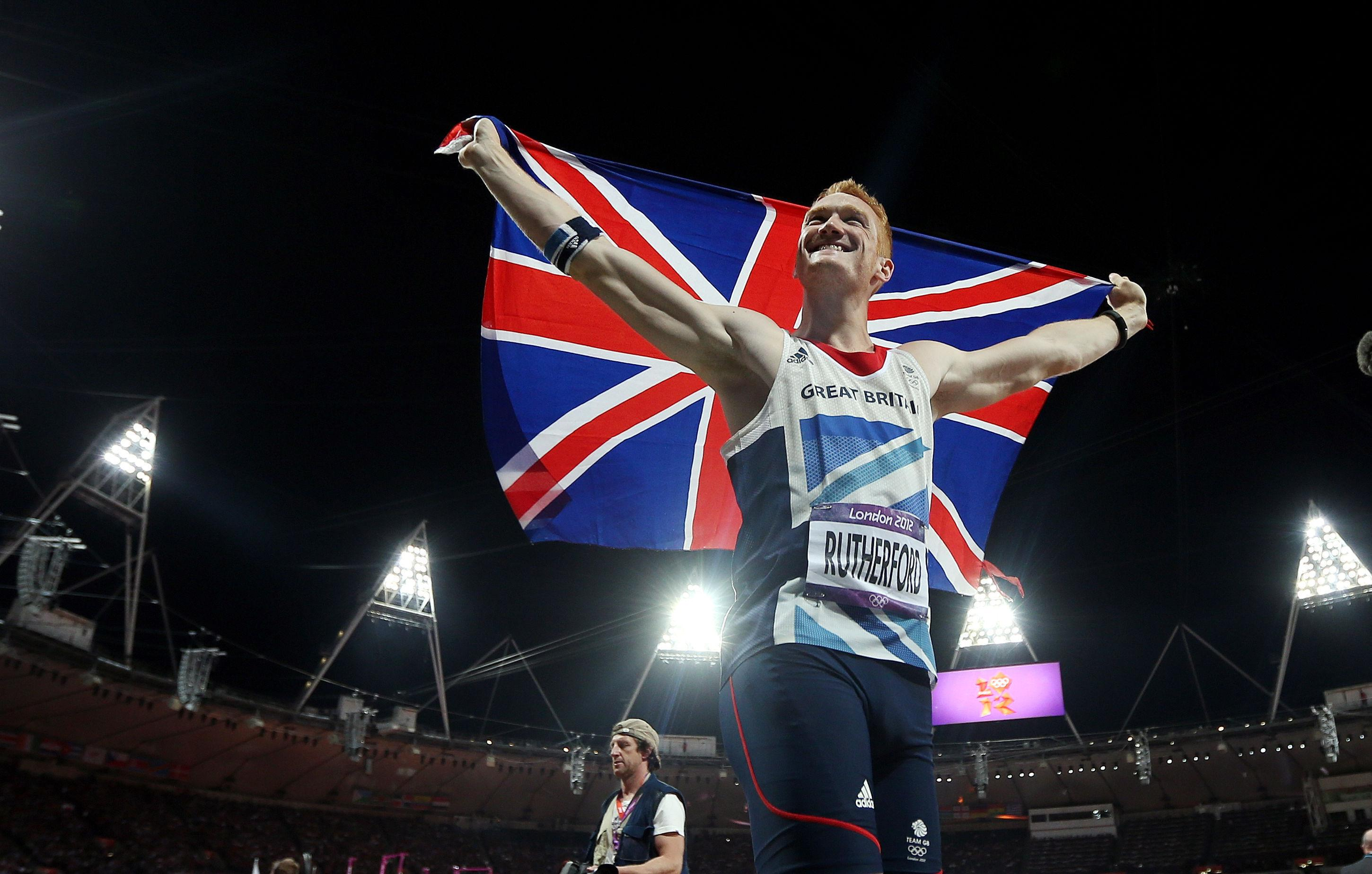 Greg took the gold medal at London 2012