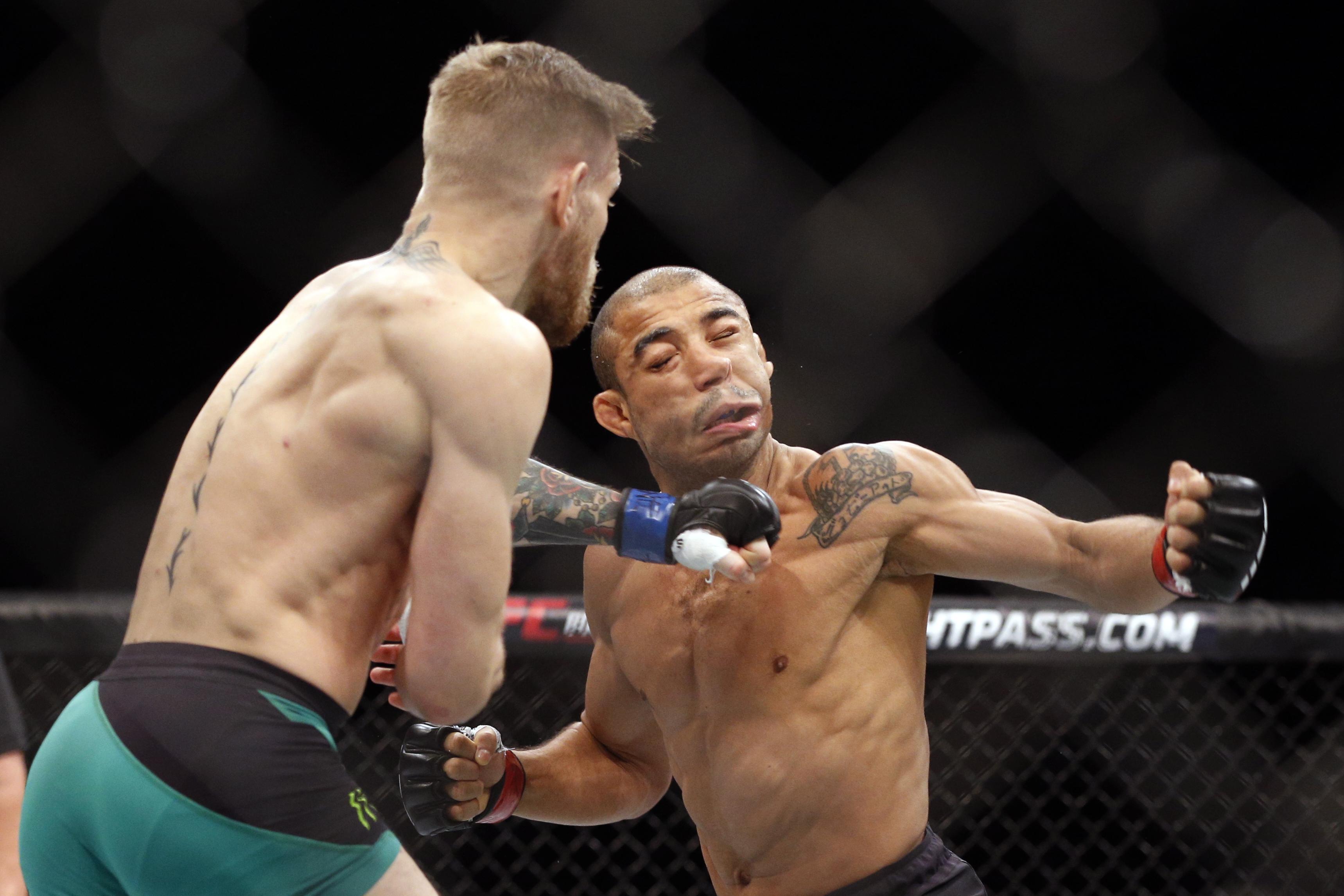 Conor McGregor beat Jose Aldo on December 12, 2015