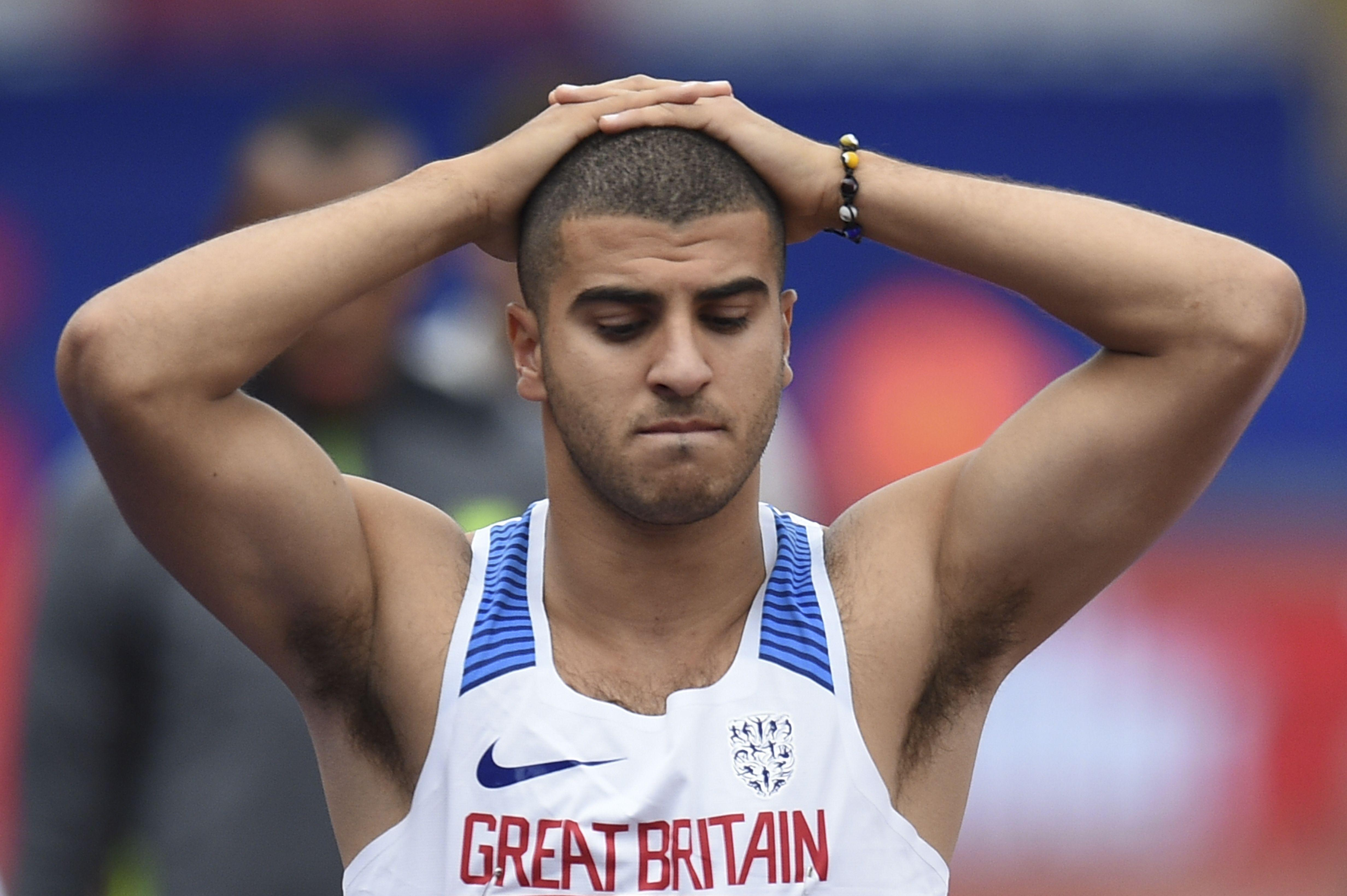 Gemili has been unlucky in the Olympic Games