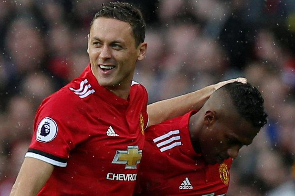 7db45e5b40b Manchester United in double injury boost as Nemanja Matic and Antonio  Valencia return to full training ahead of Tottenham clash