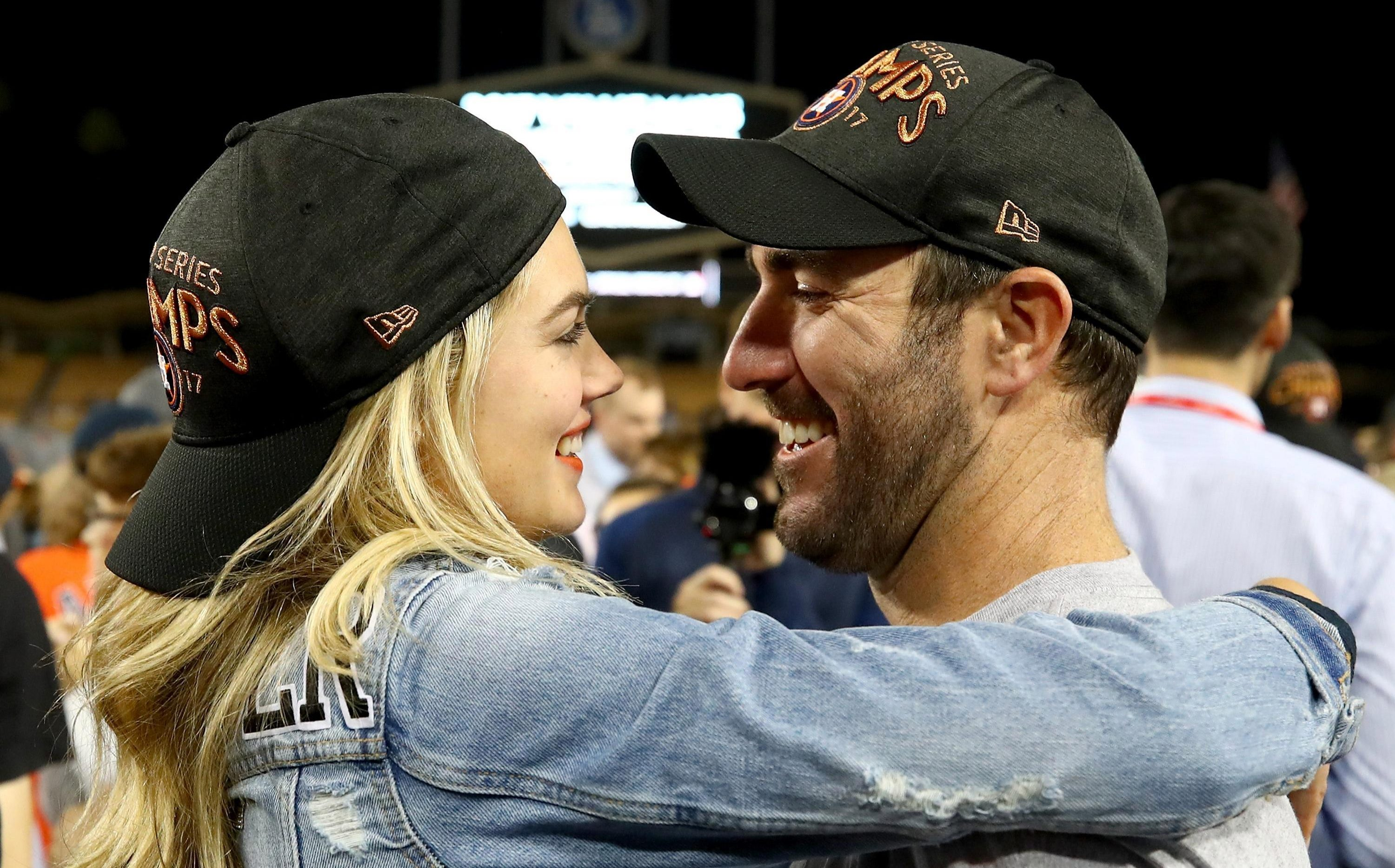 Justin Verlander helped Houston beat the LA Dodgers in the World Series last year
