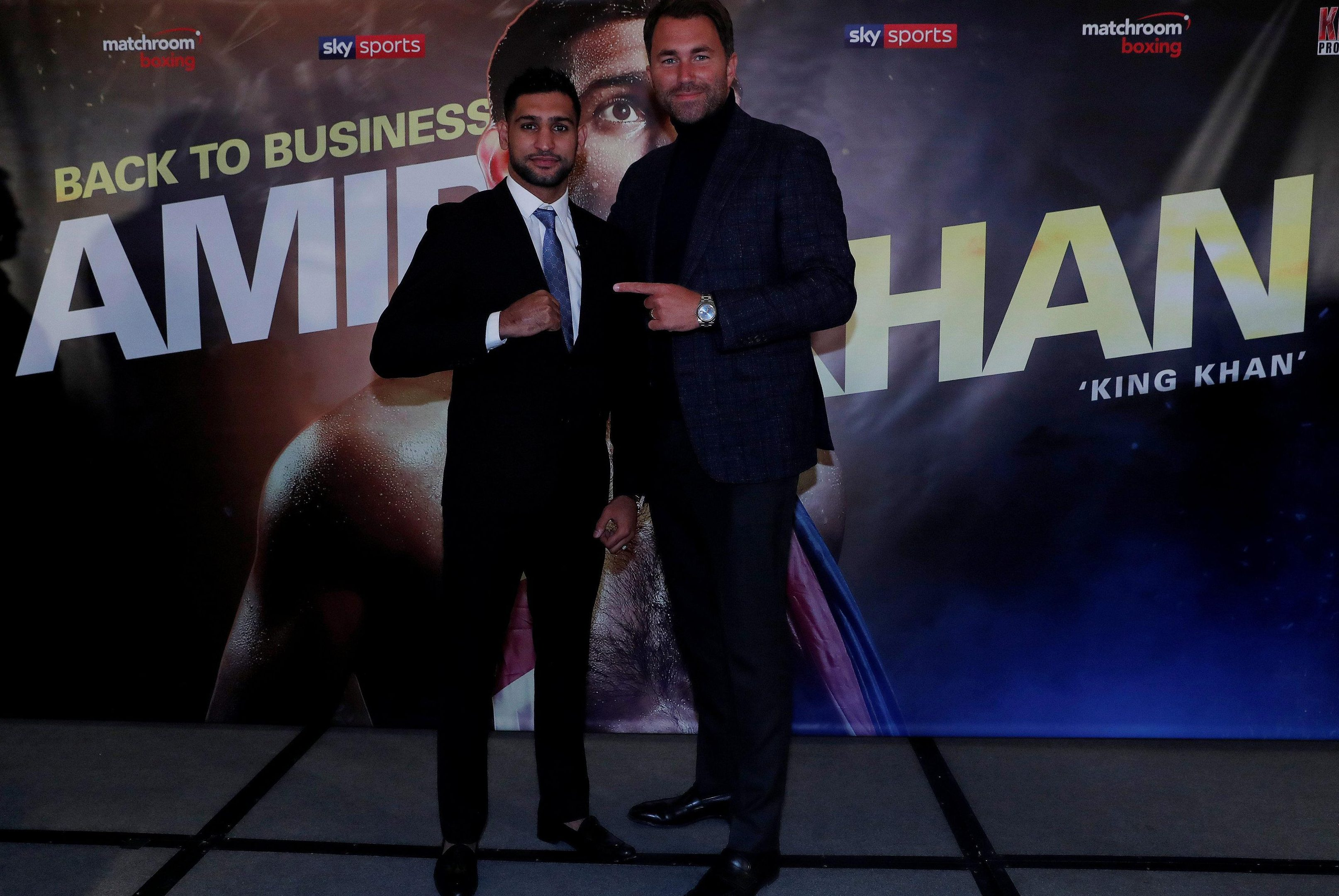 Eddie Hearn wants to sign Manny Pacquiao and line up a fight with Amir Khan