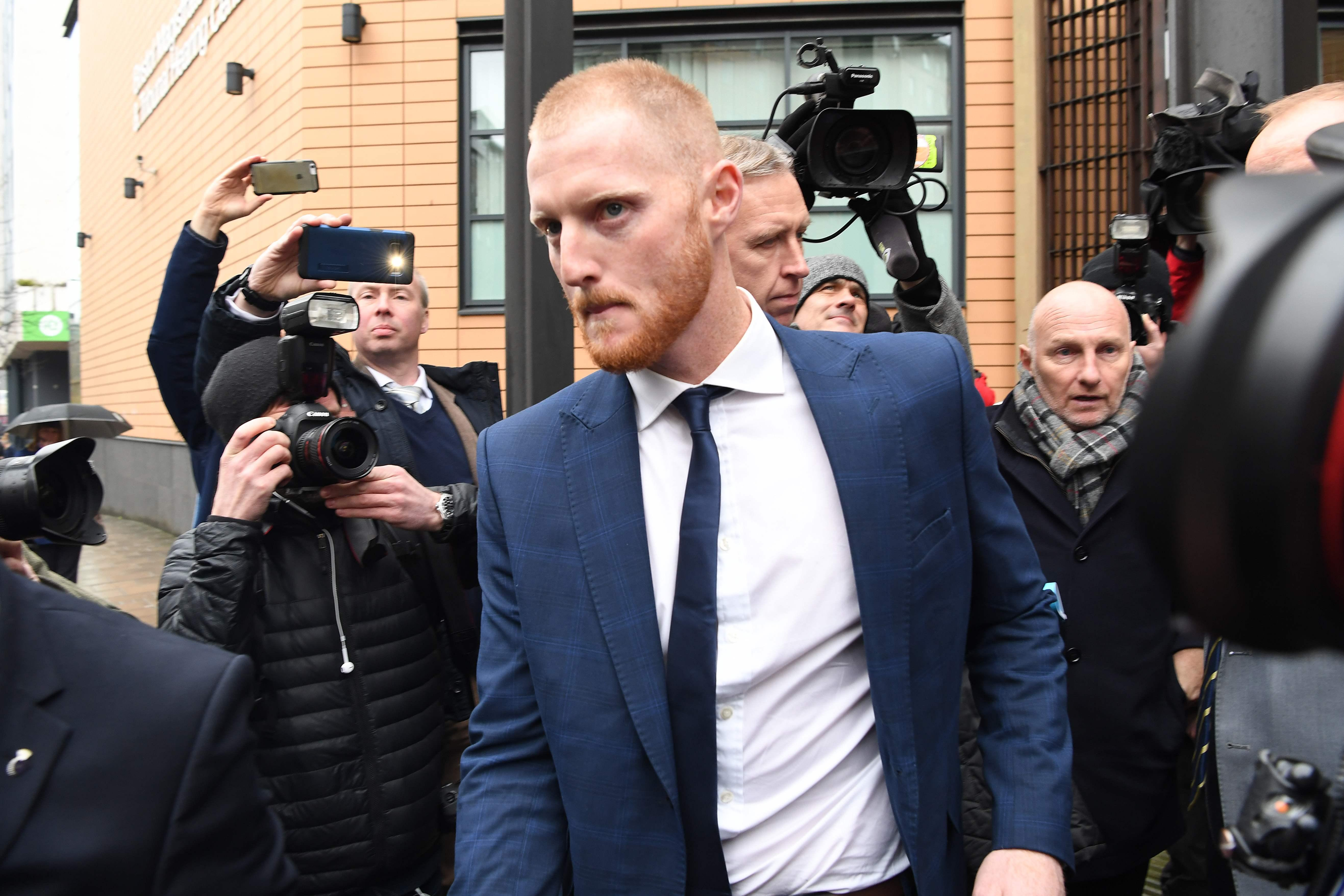 Ben Stokes will arrive at Bristol Crown Court on Monday to begin his trial