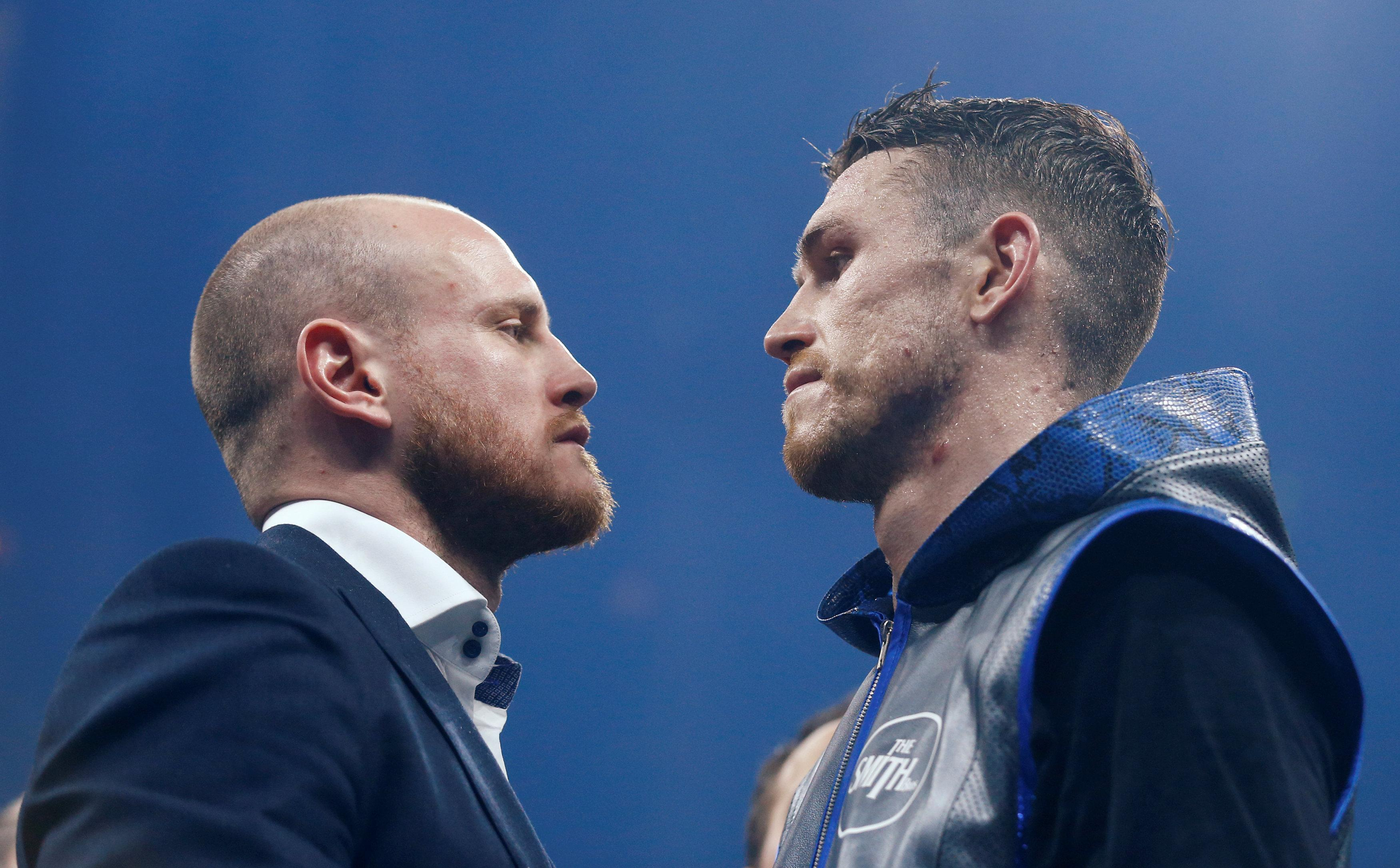 George Groves will defend his world title against Callum Smith on September 28 - but has been hit with a major injury