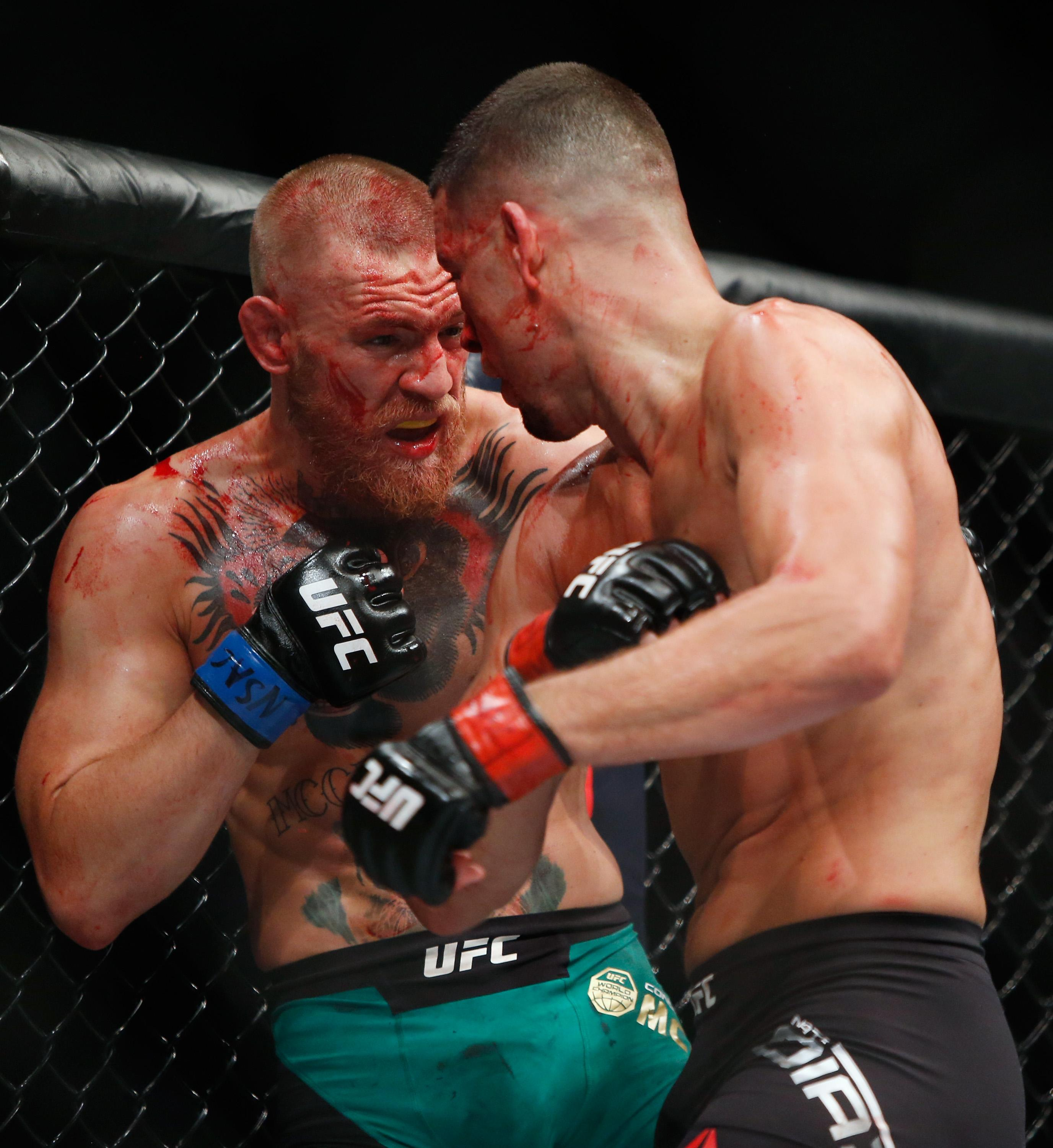 Diaz, 33, hasn't fought since suffering a points defeat against Conor McGregor two years ago