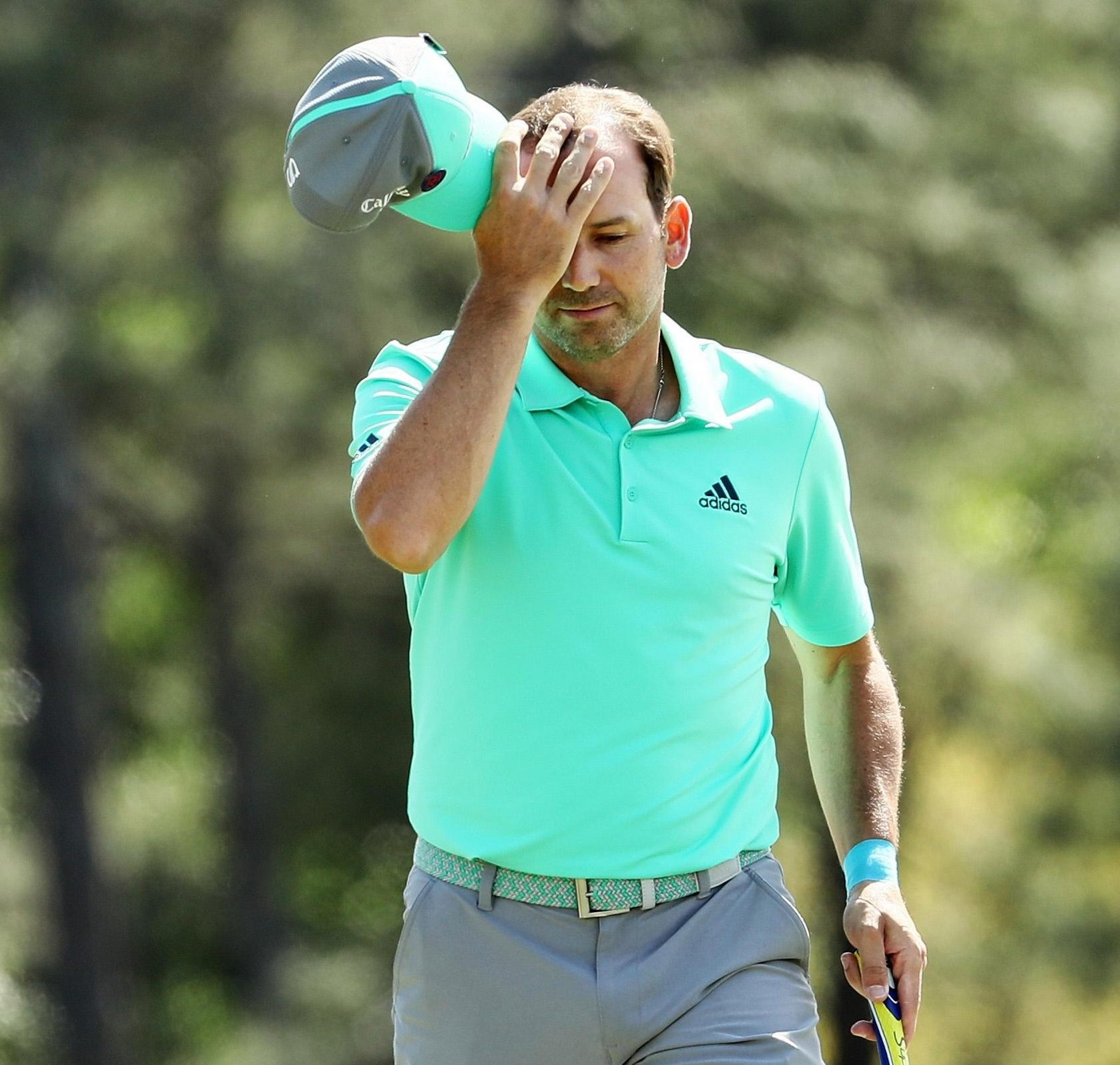 Sergio Garcia is in crisis having missed the cut in all four Majors this year
