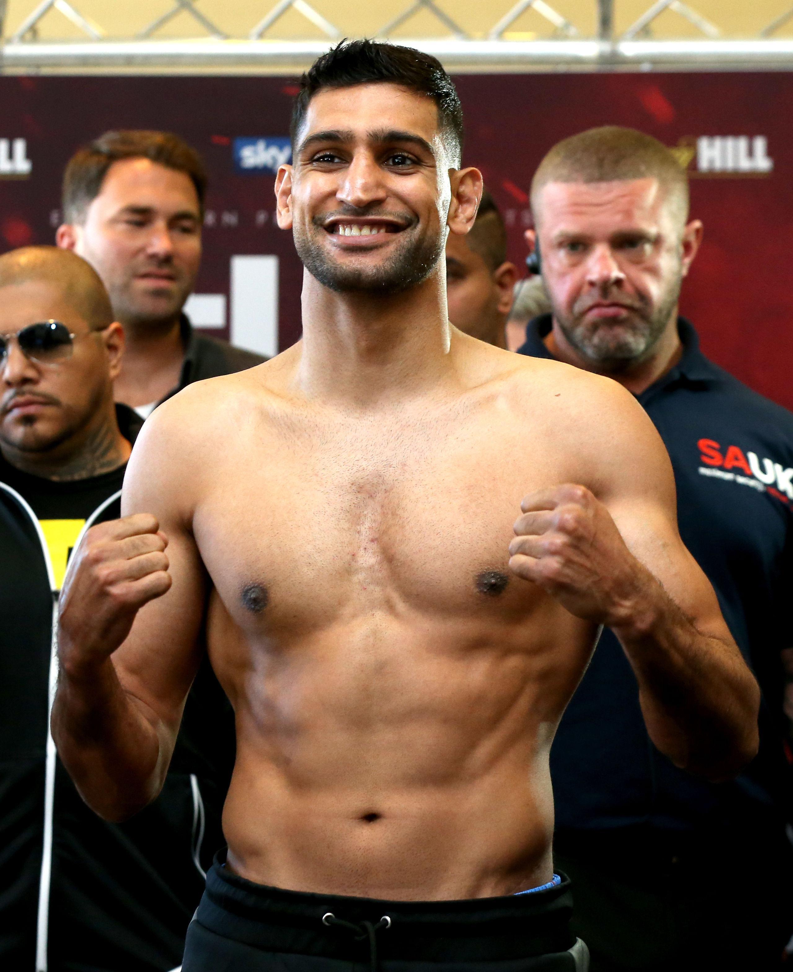 Welterweight ace Amir Khan is preparing to face Samuel Vargas on September 8