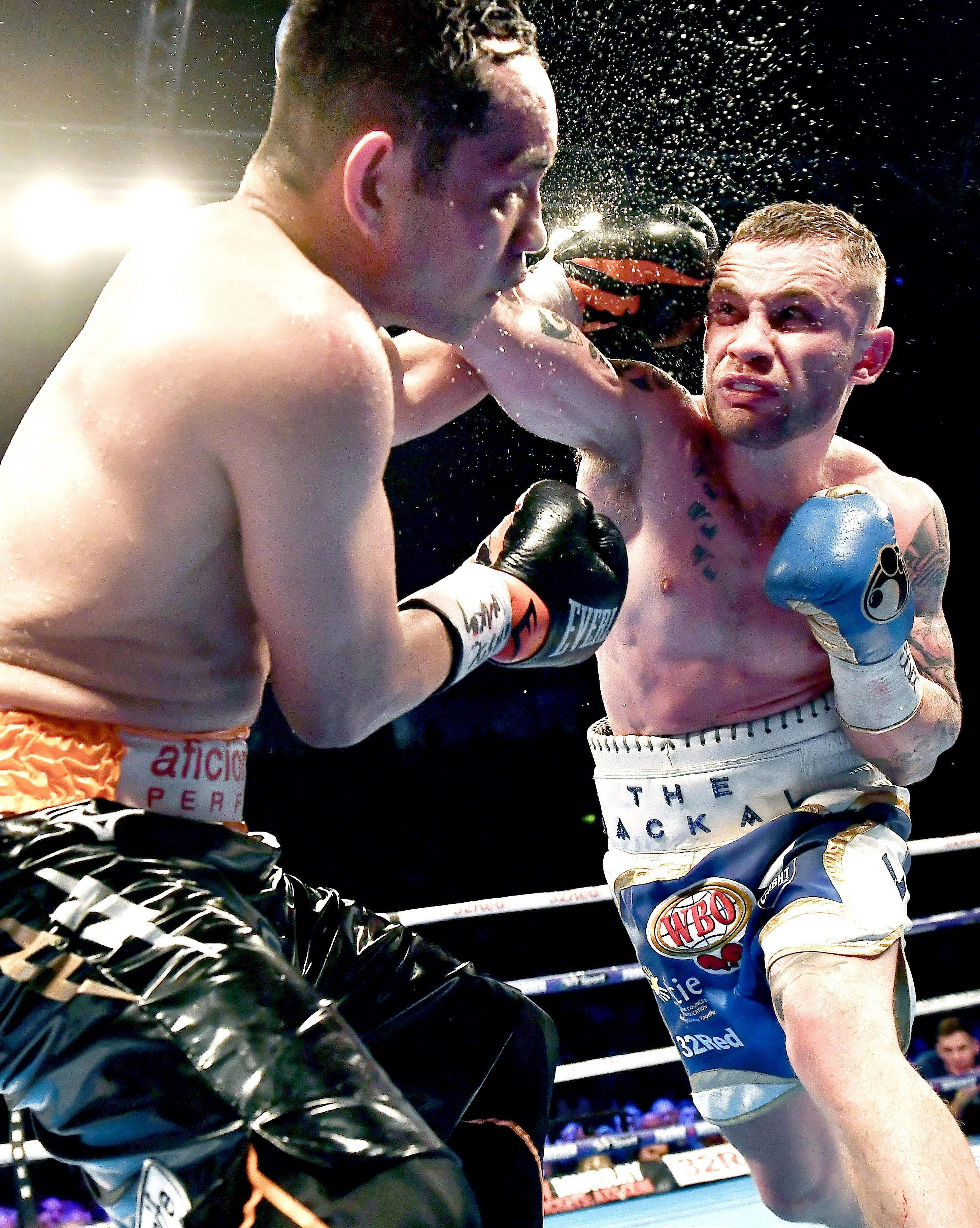 Frampton dispatched Nonito Donaire during their WBO Interim world featherweight championship bout in April