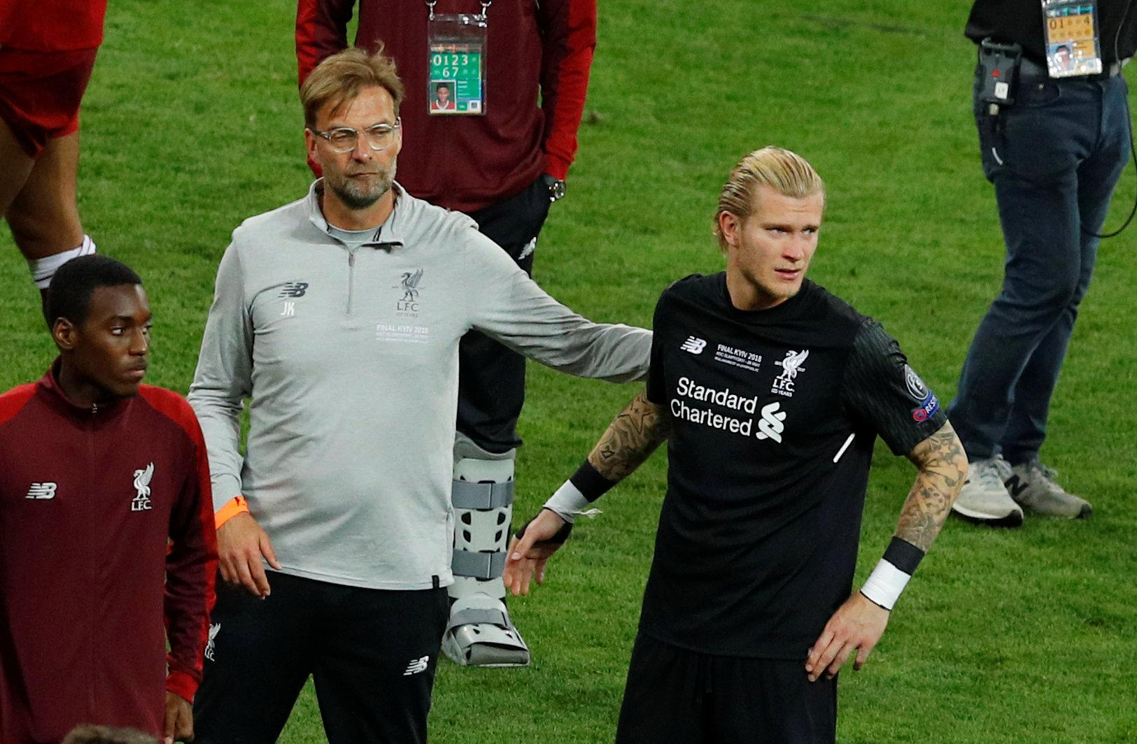Jurgen Klopp has revealed he had no idea what to say to Loris Karius after his Champions League final horror show in May