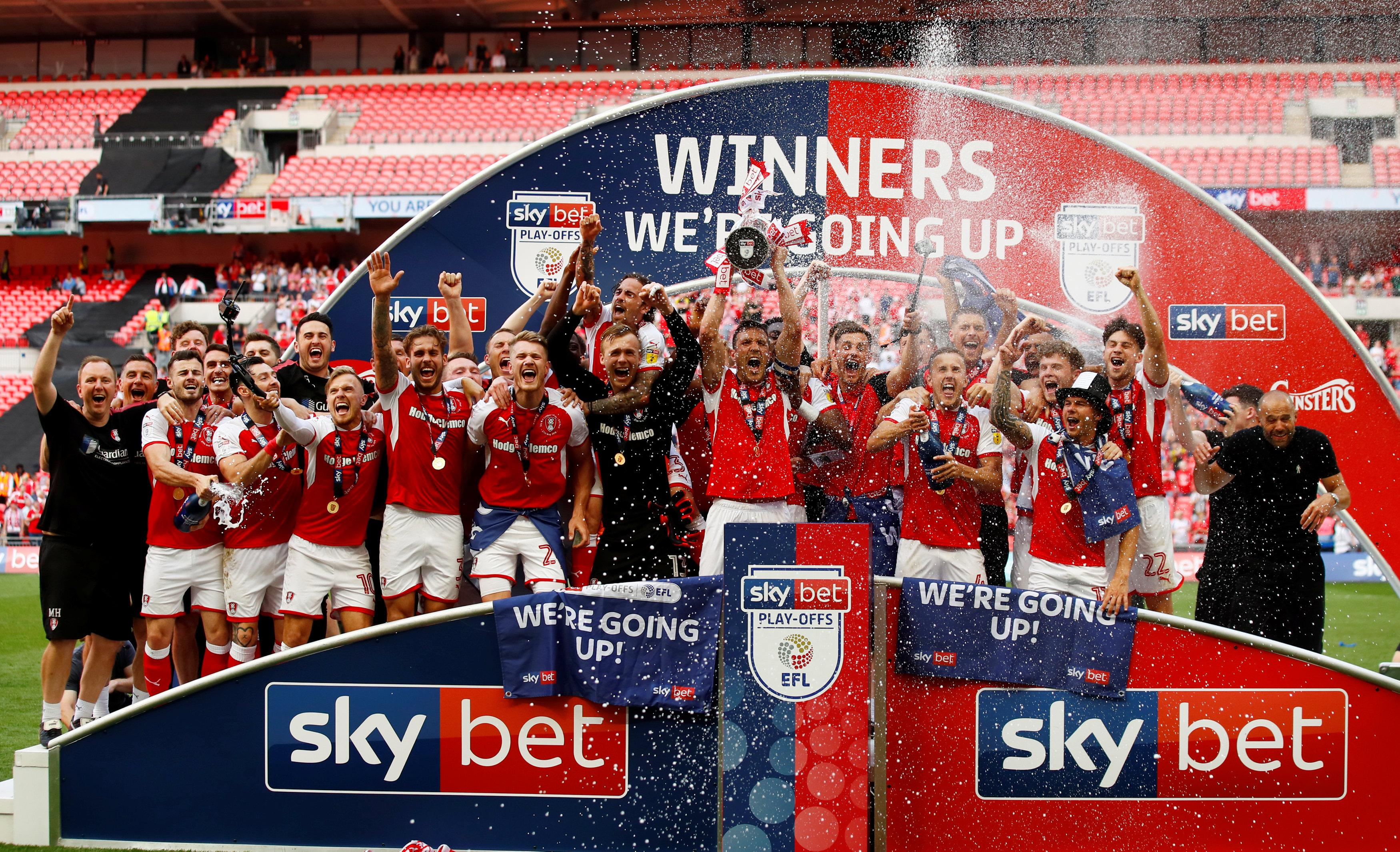 Rotherham United won promotion to the Championship thanks to a lab monitoring players' diets