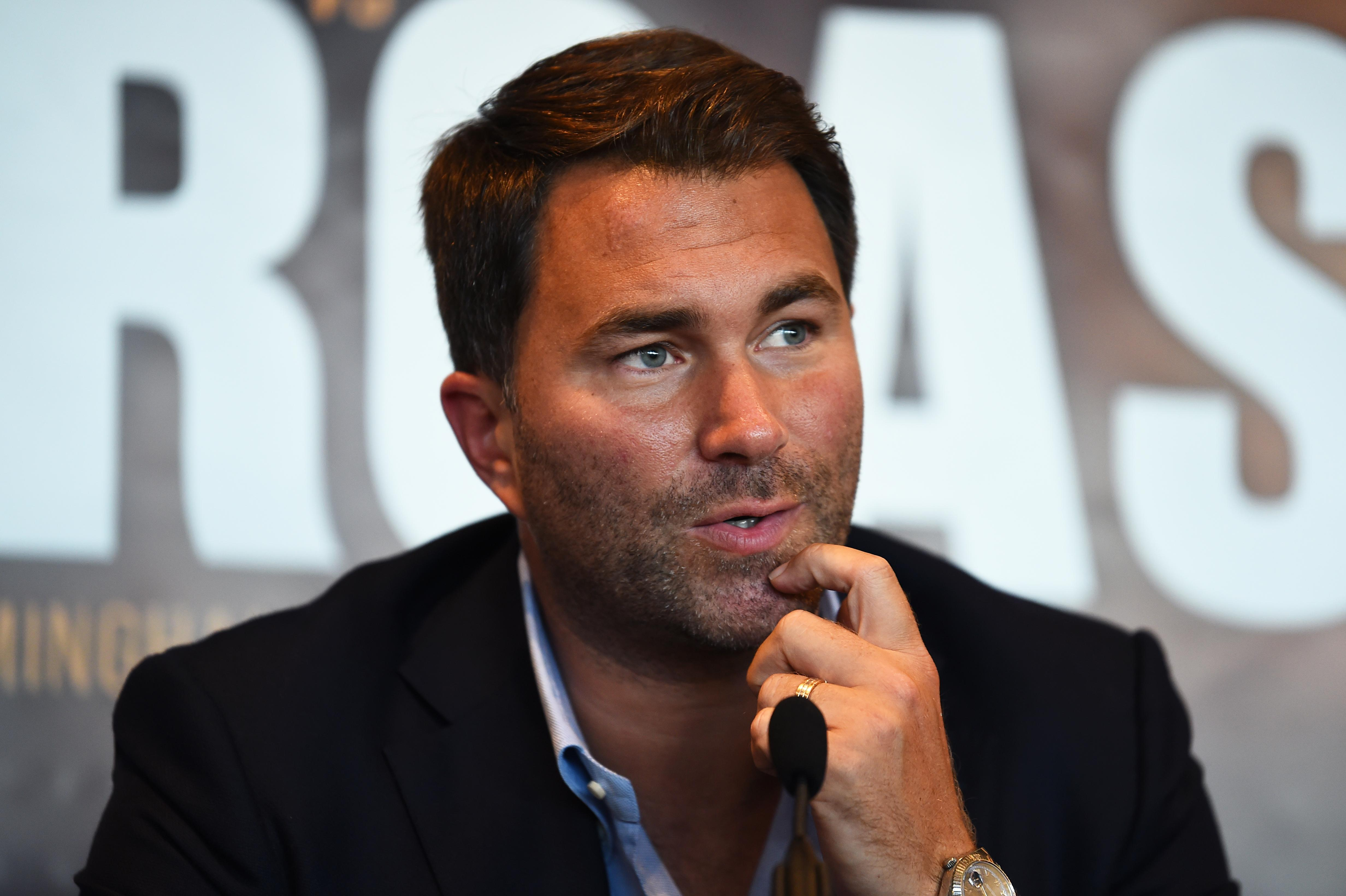 Eddie Hearn recently suggest the bout between Fury and Wilder would not take place