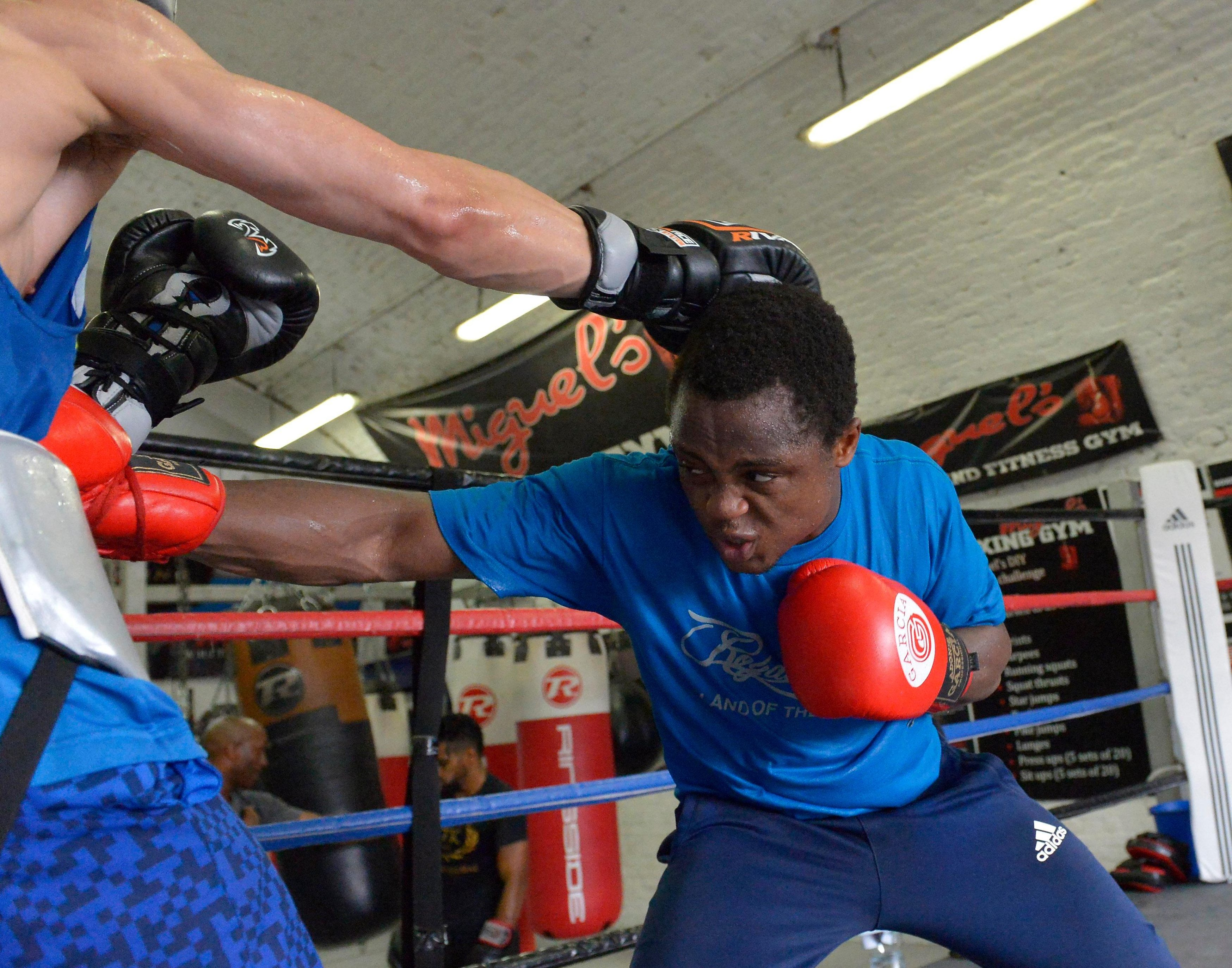 Isaac Dogboe is a fearless fighter with a brutal ability to attack the body