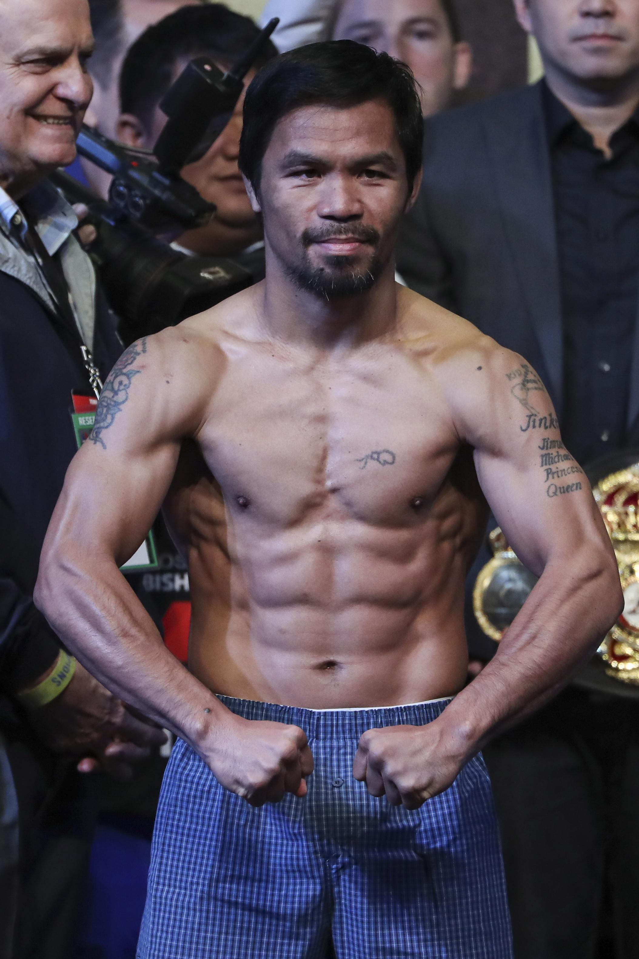 Manny Pacquiao is in talks to sign a promotion deal with Matcroom in America