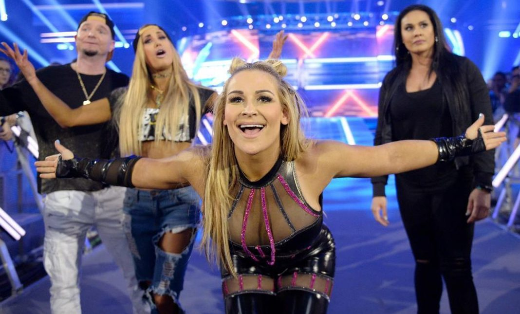 Neidhart's daughter Natalya has followed in her famous dad's footsteps