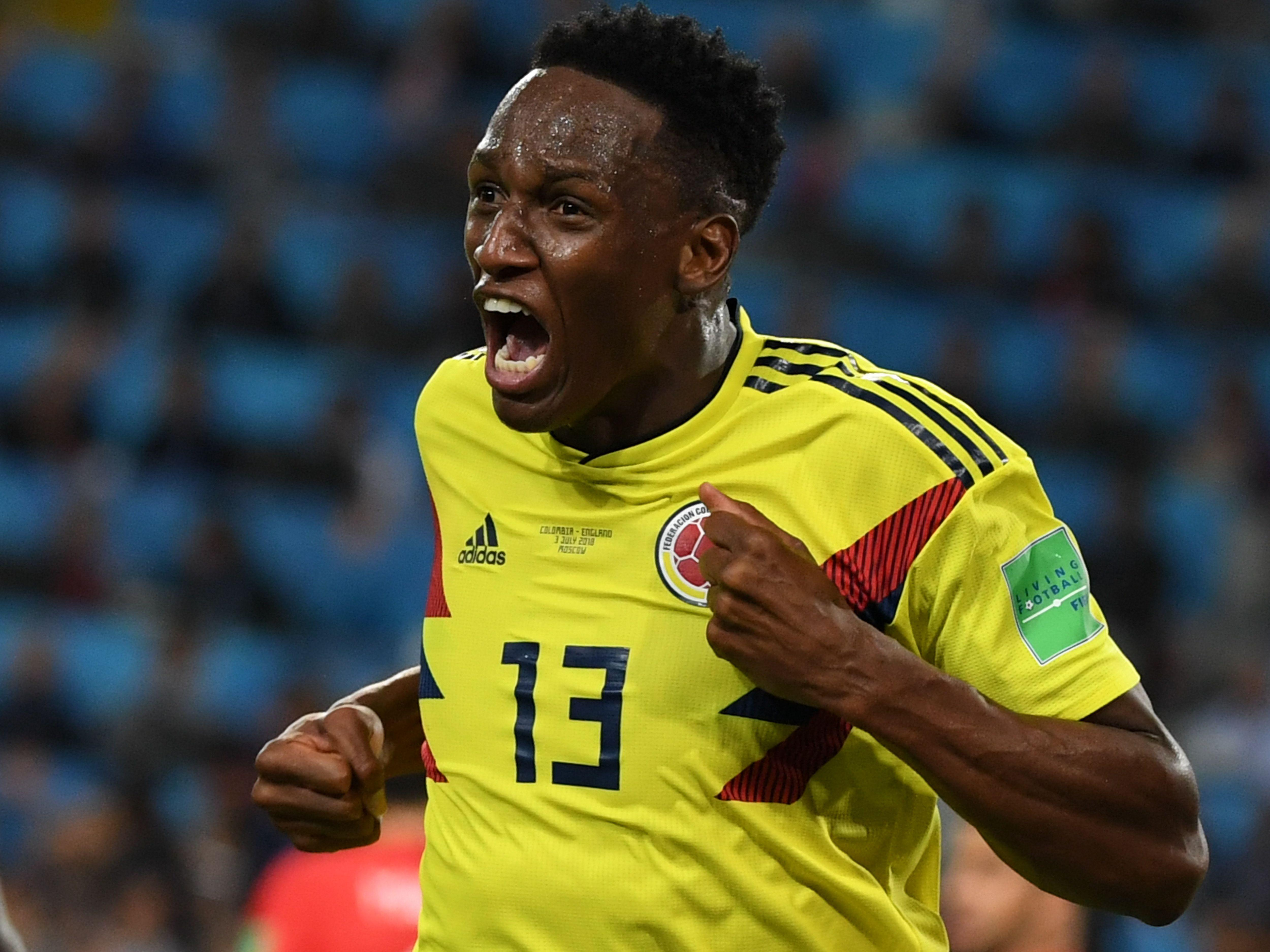 Yerry Mina starred for Colombia in this summer's World Cup and could be lighting up the Premier League next season