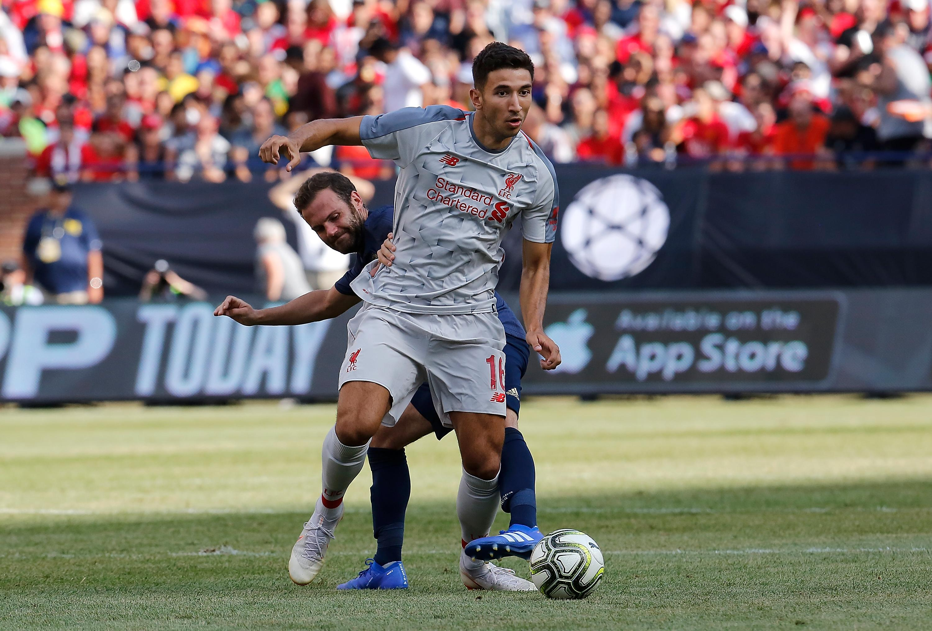 Marko Grujic has signed a new contract at Liverpool but immediately joined Hertha Berlin on loan