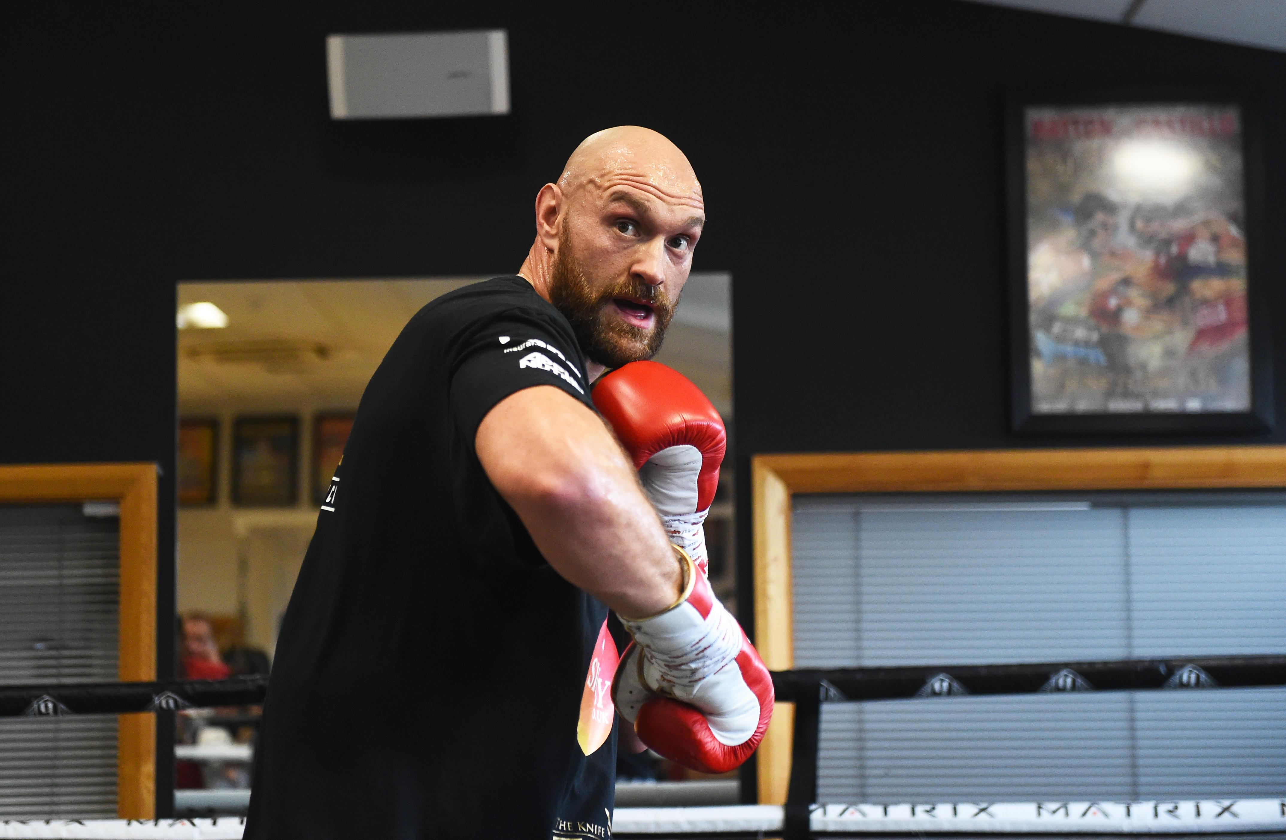 Tyson Fury insists his chasing of Deontay Wilder is not PR