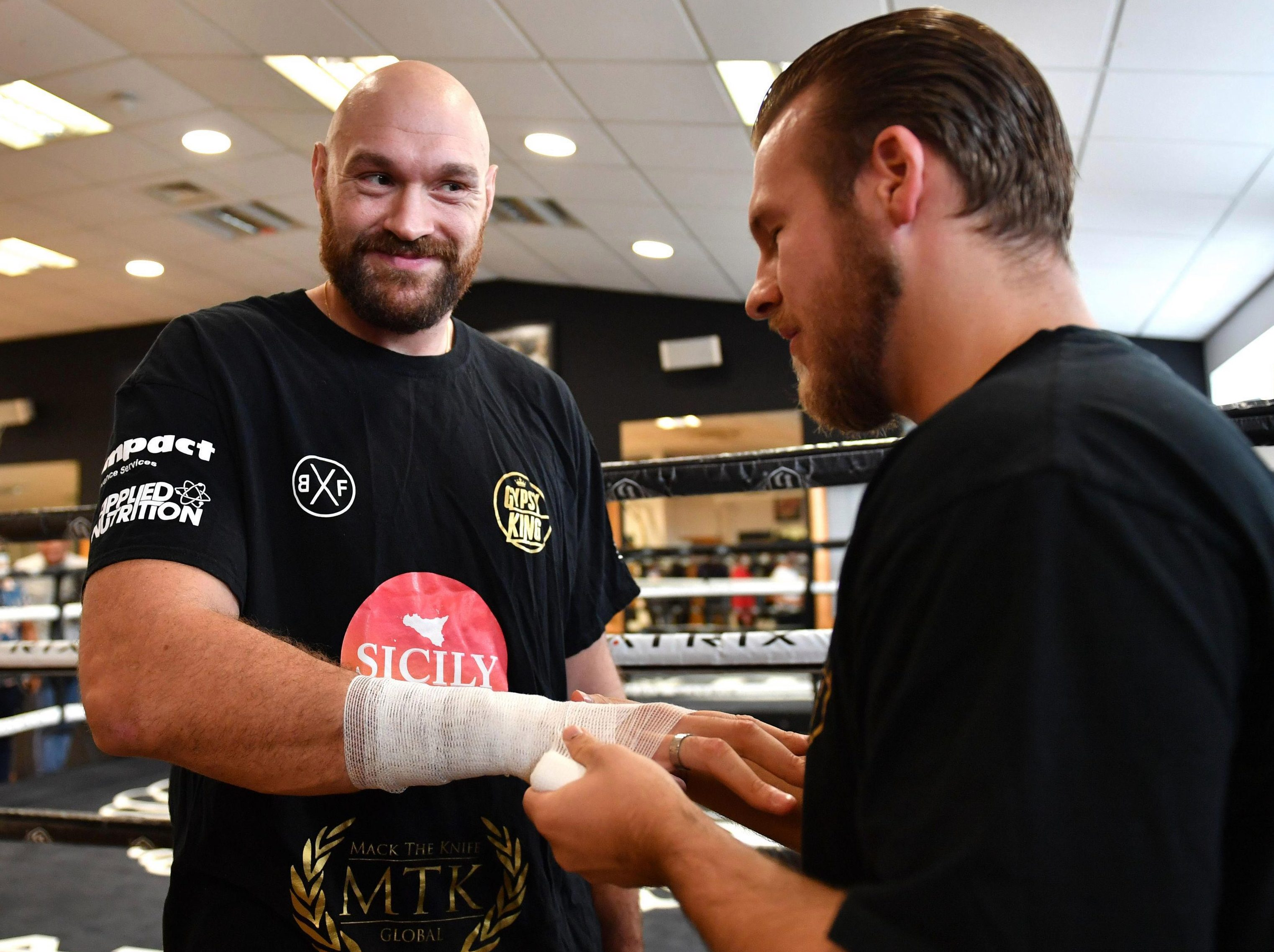 Tyson Fury says he is the best heavyweight in history and could beat unbeaten rivals Deontay Wilder and Anthony Joshua on the same bill
