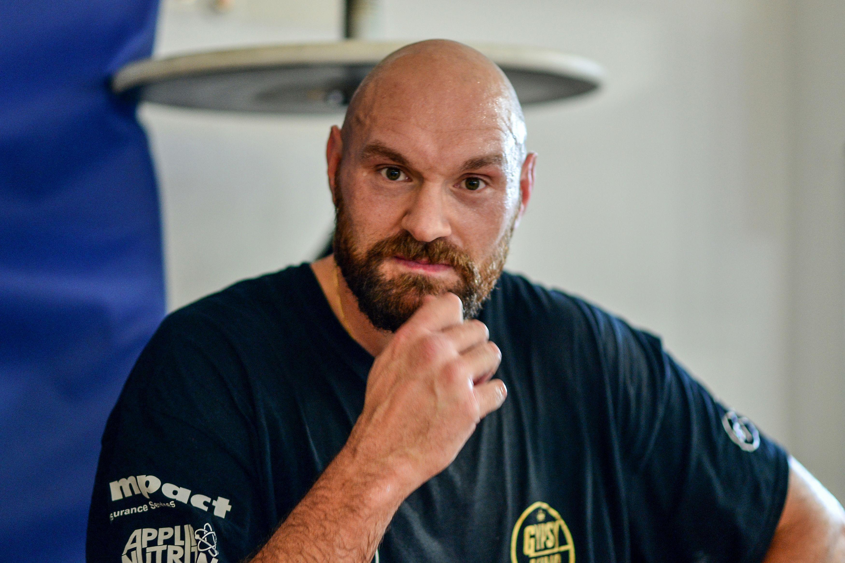 Gypsy King Fury faces Italian heavyweightFrancesco Pianeta on August 18