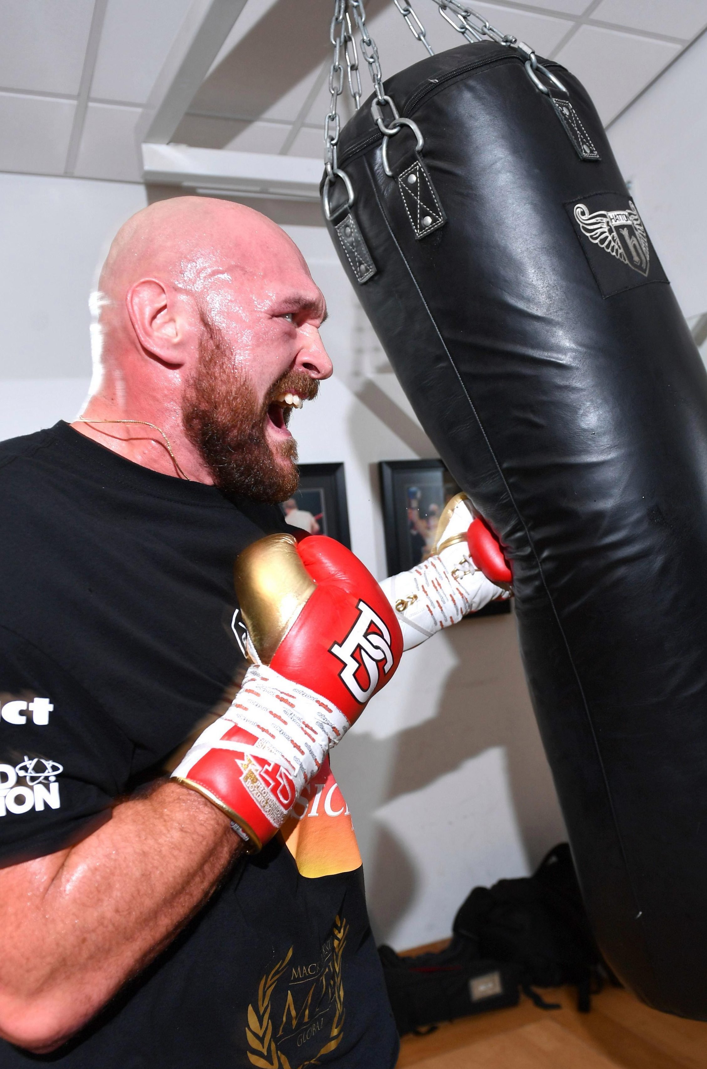 Heavyweight Tyson Fury has worked hard to get back into top fighting shape