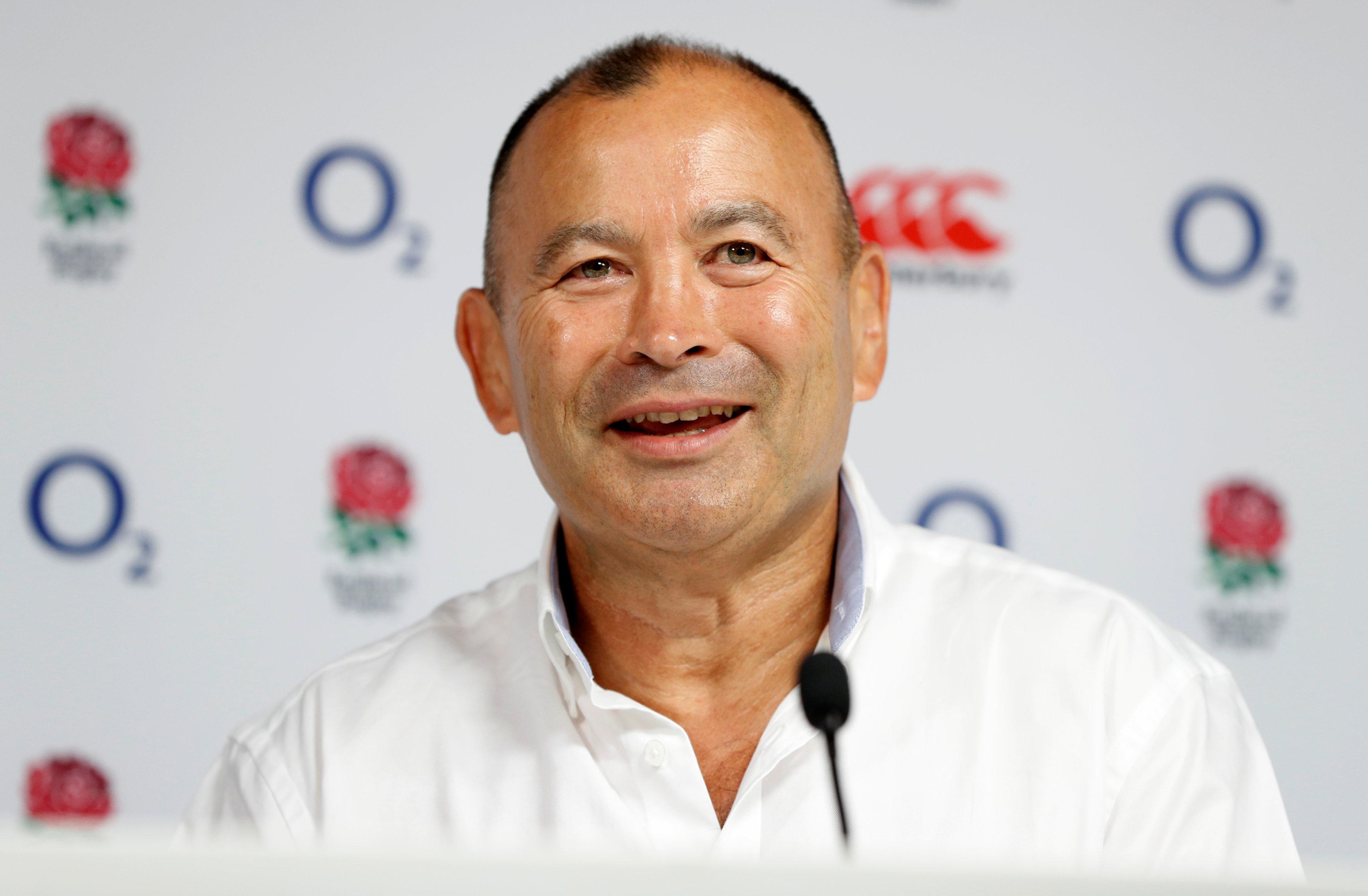 England coach Jones has come under pressure following a series of defeats