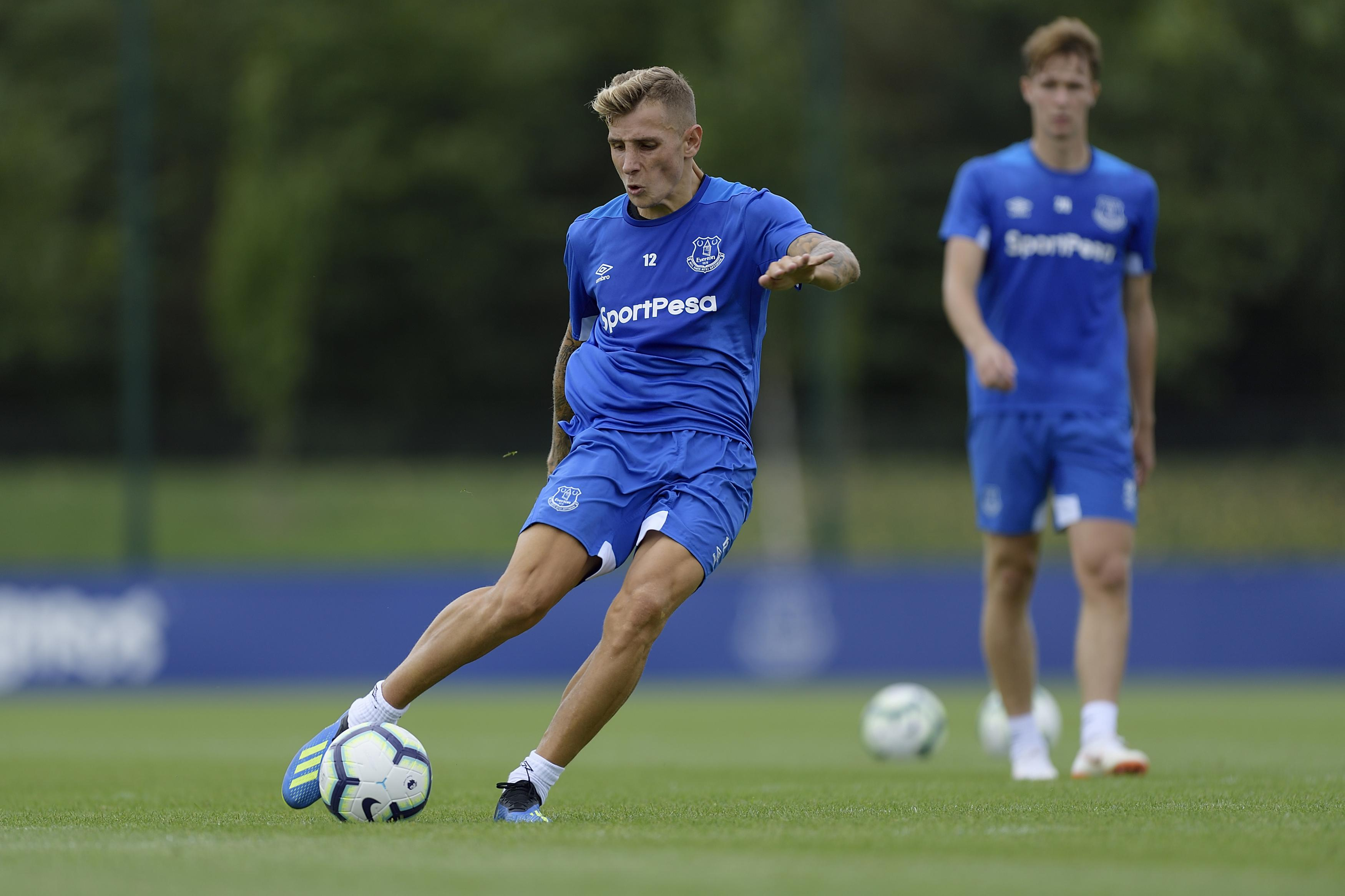 Digne has linked up with his new Everton team-mates and now wants the chance to shine in the Premier League